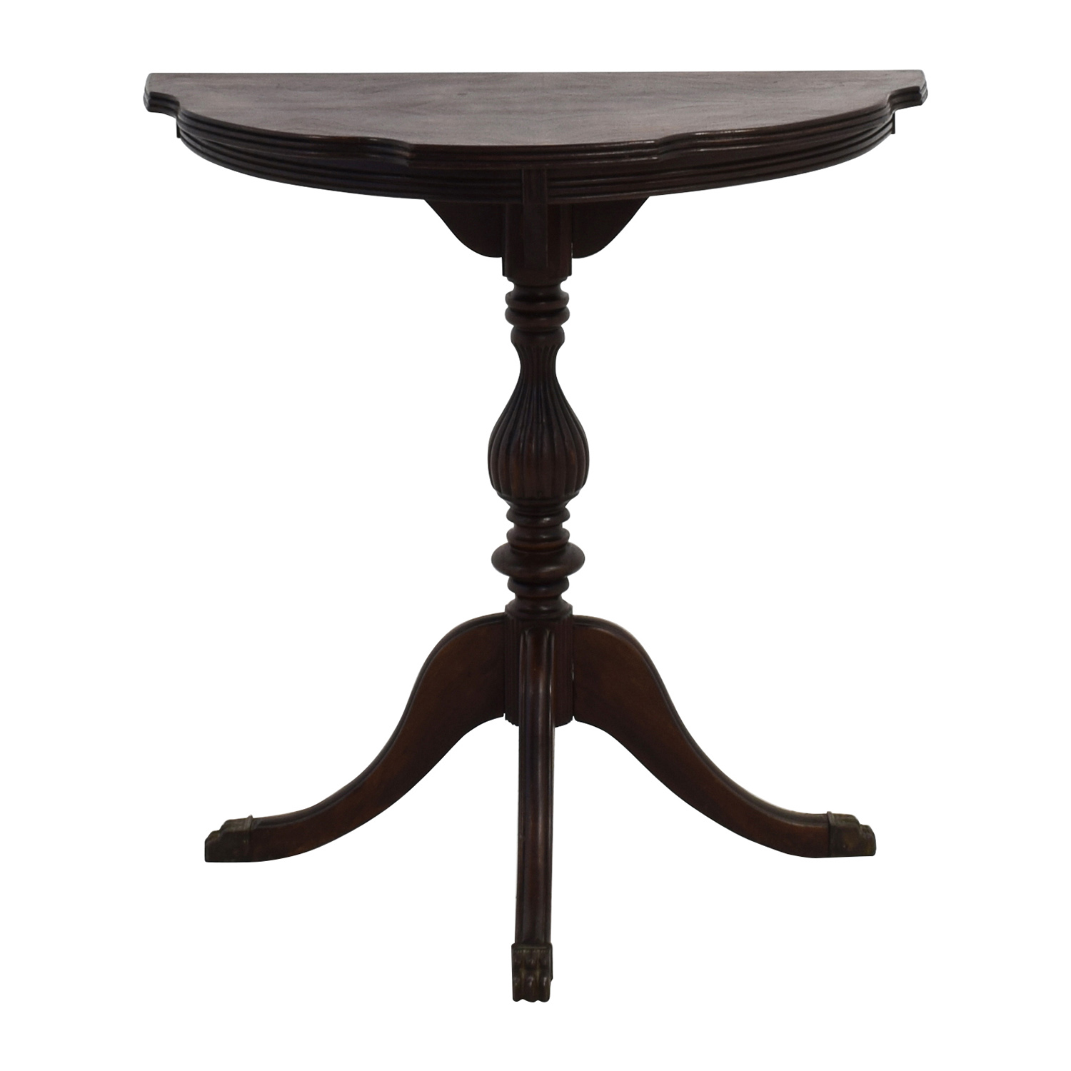 Antique Mahogany Wood Occasional Table Accent Tables