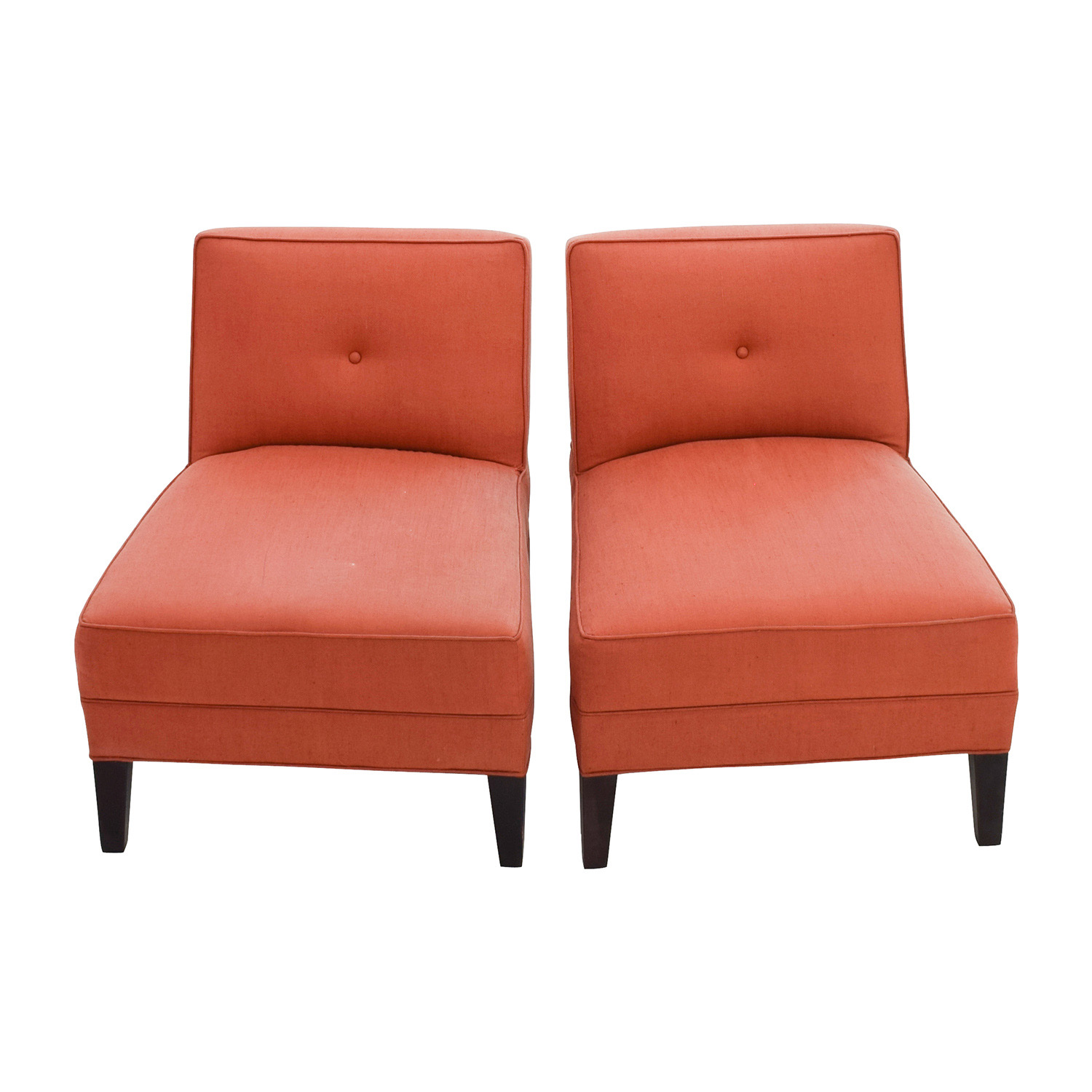 buy Mitchell Gold And Bob Williams Mitchell Gold & Bob Williams Paprika Armless Chairs online