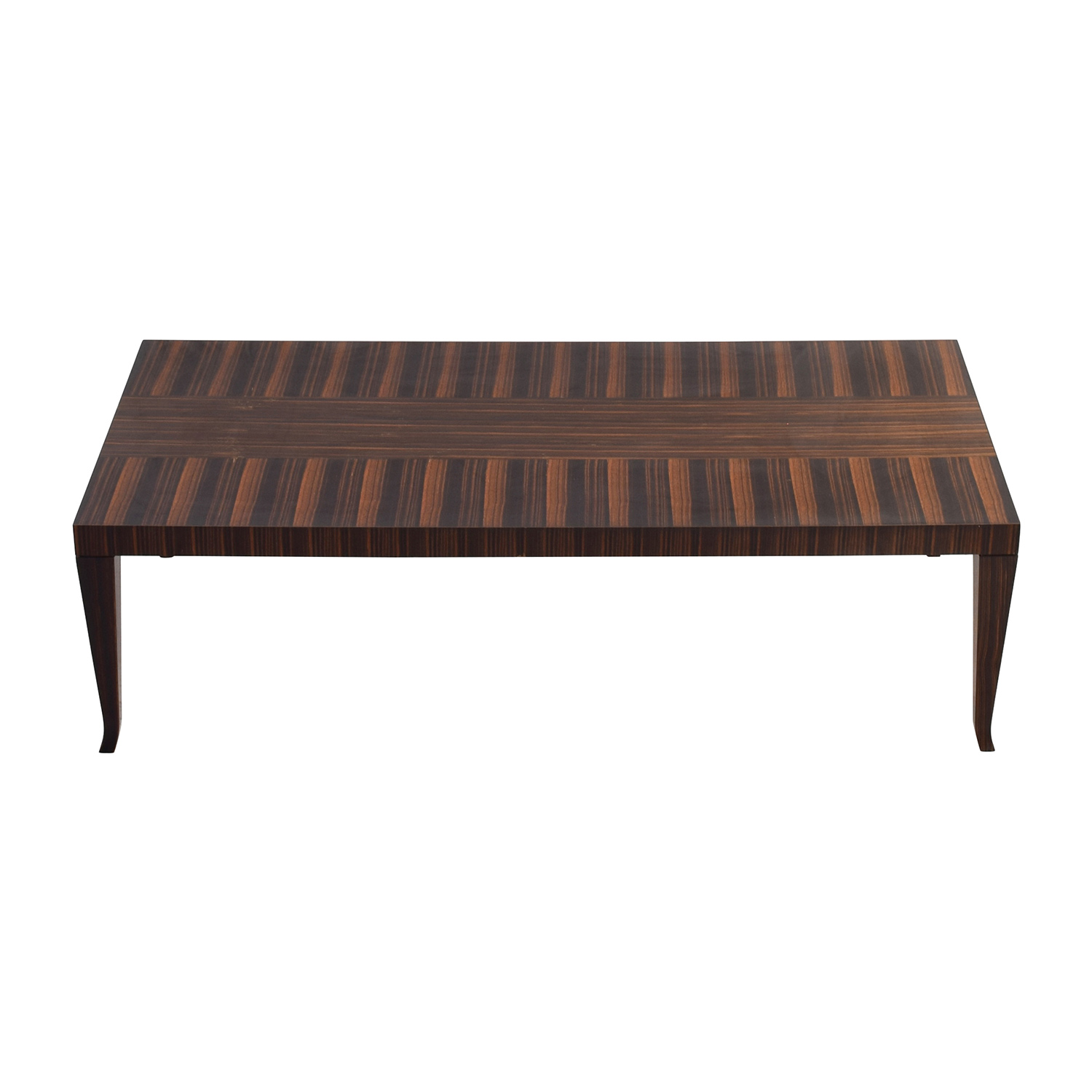 John Widicomb John Widicomb Solid Multi-Toned Wood Coffee Table dimensions