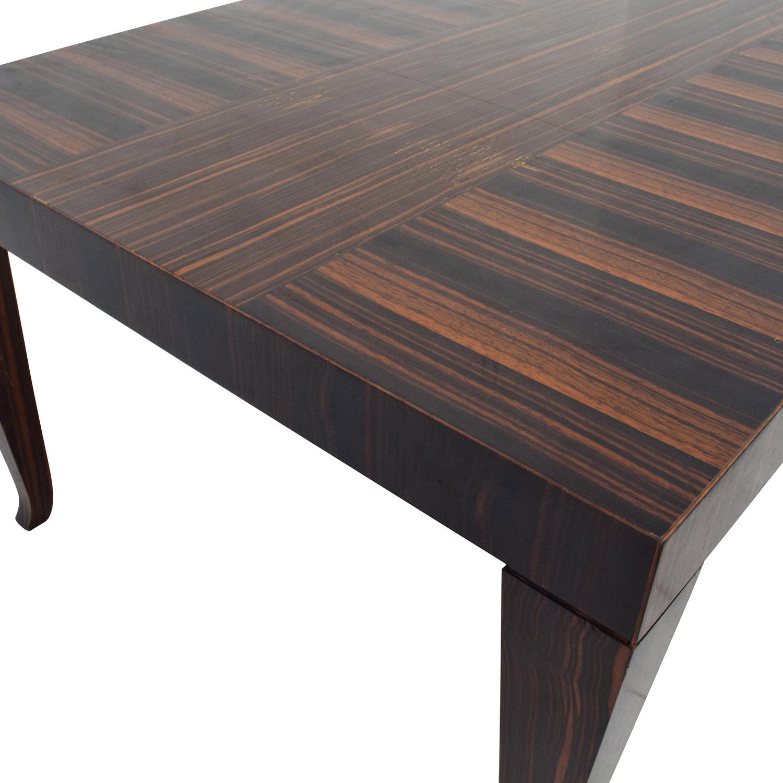 Used Solid Wood Coffee Table: John Widicomb John Widicomb Solid Multi-Toned
