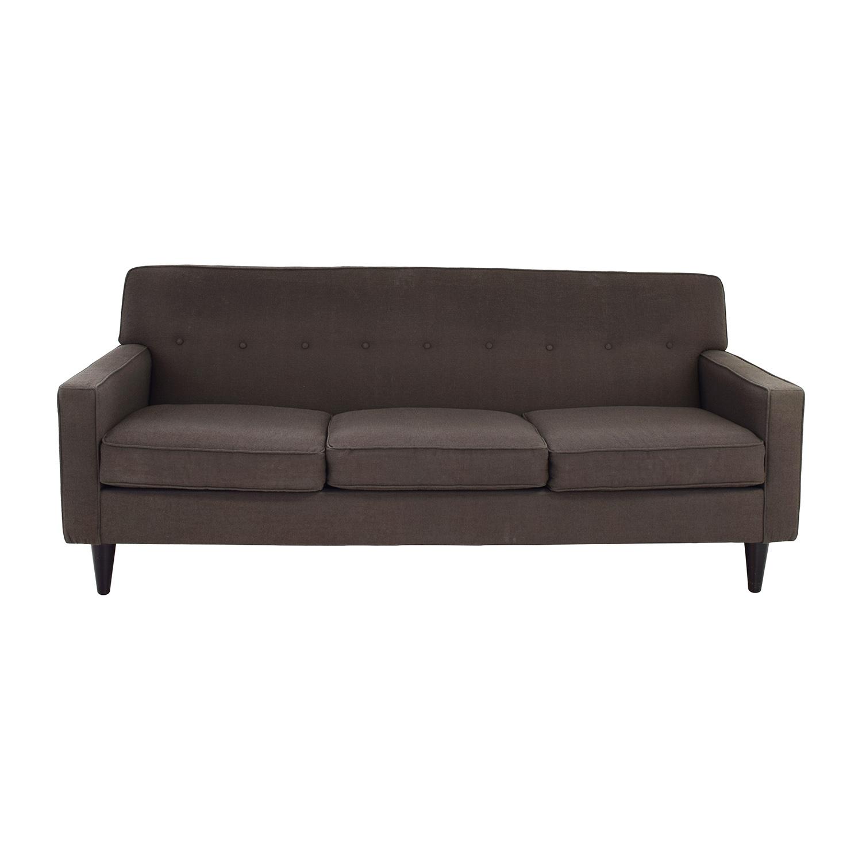 Shop macys macys corona mid century modern sofa online