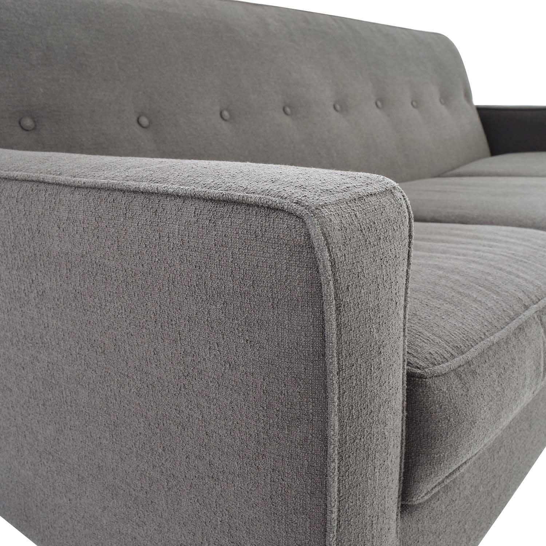 41% OFF Macy s Macys Corona Mid Century Modern Sofa Sofas
