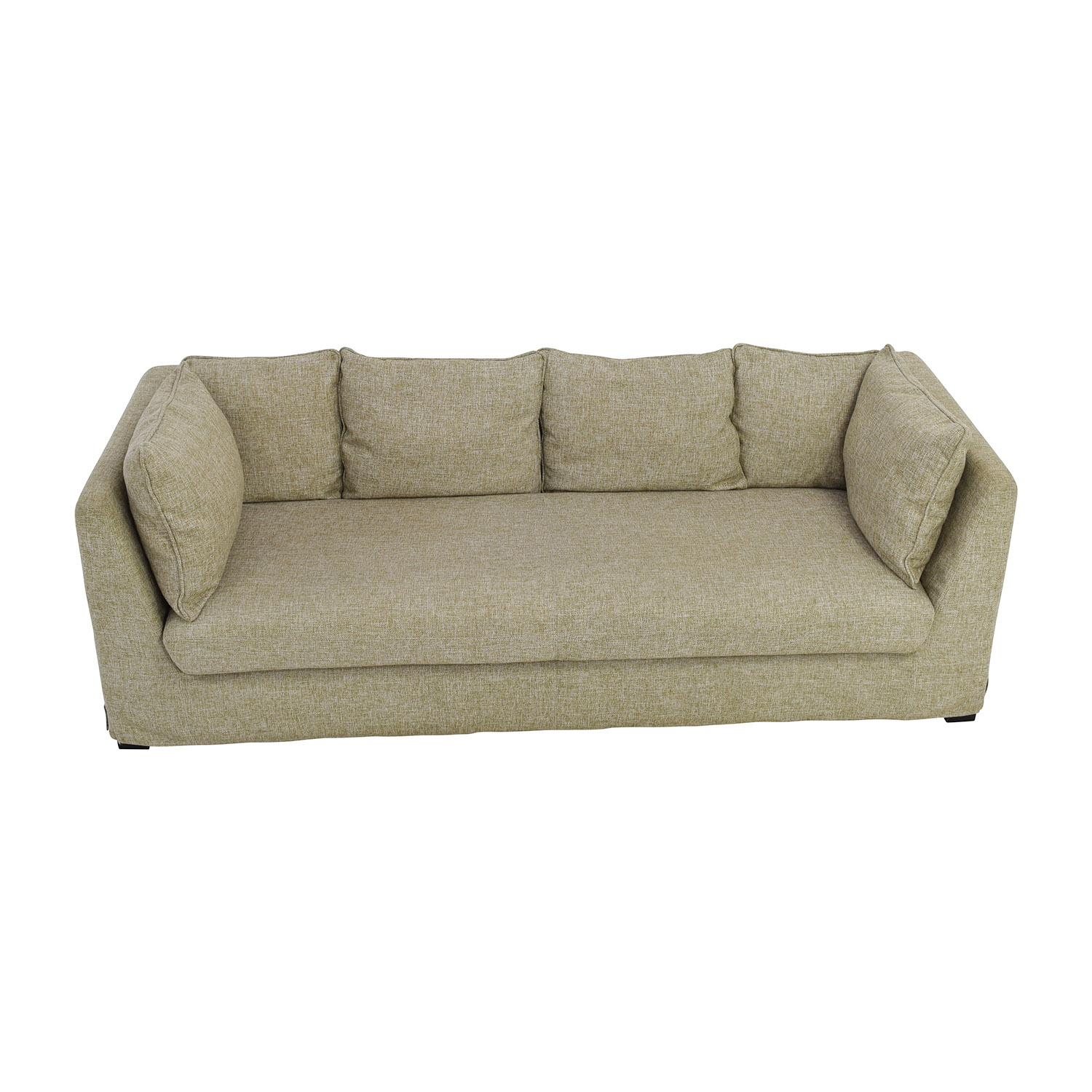 Beige Latte Three Seater Sofa
