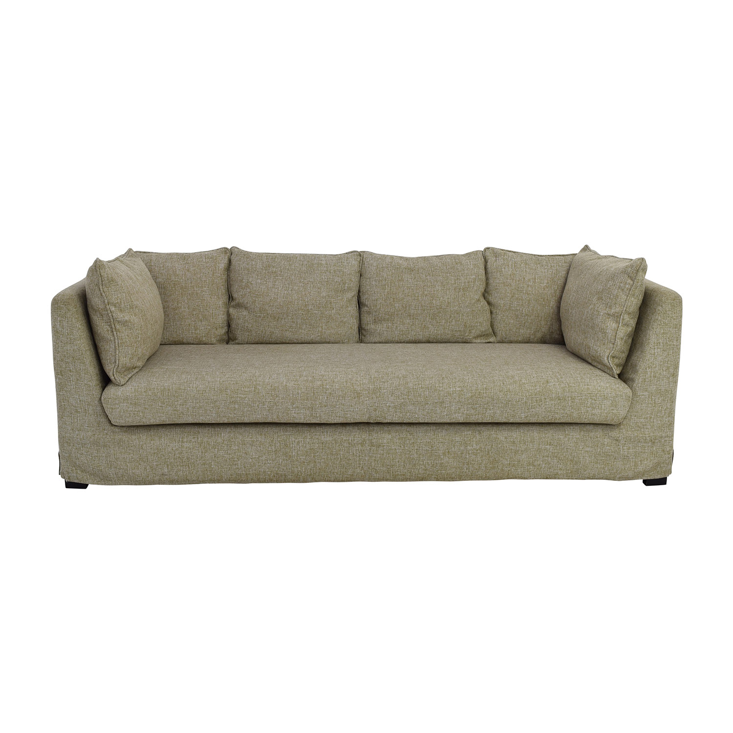 shop Beige Latte Three Seater Sofa online