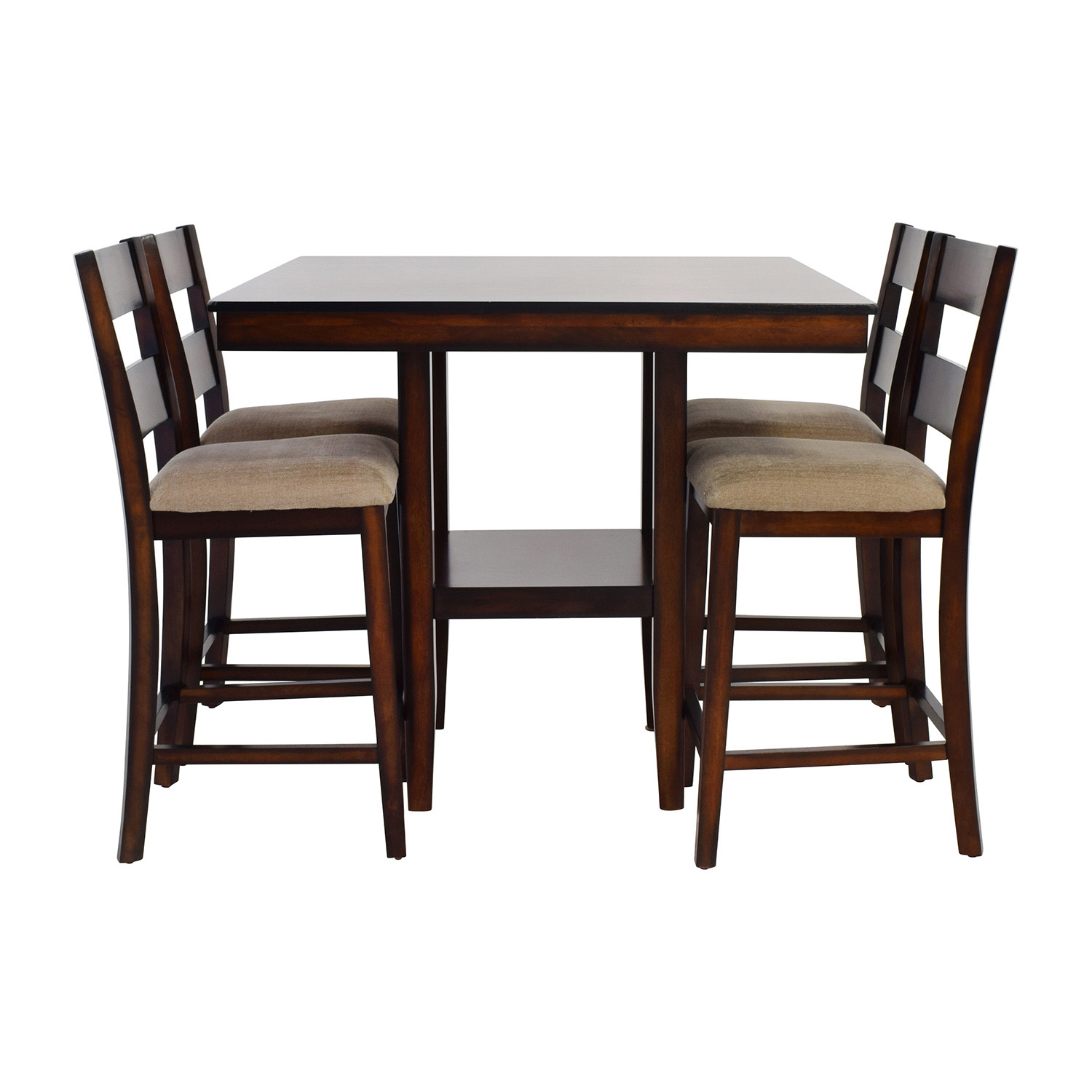 Dining sets used dining sets for sale for Tall dinner table set