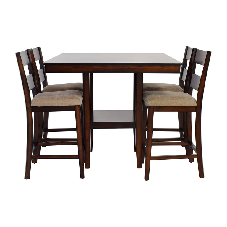 Macy's Macy's Branton Counter Height Table with Chairs used