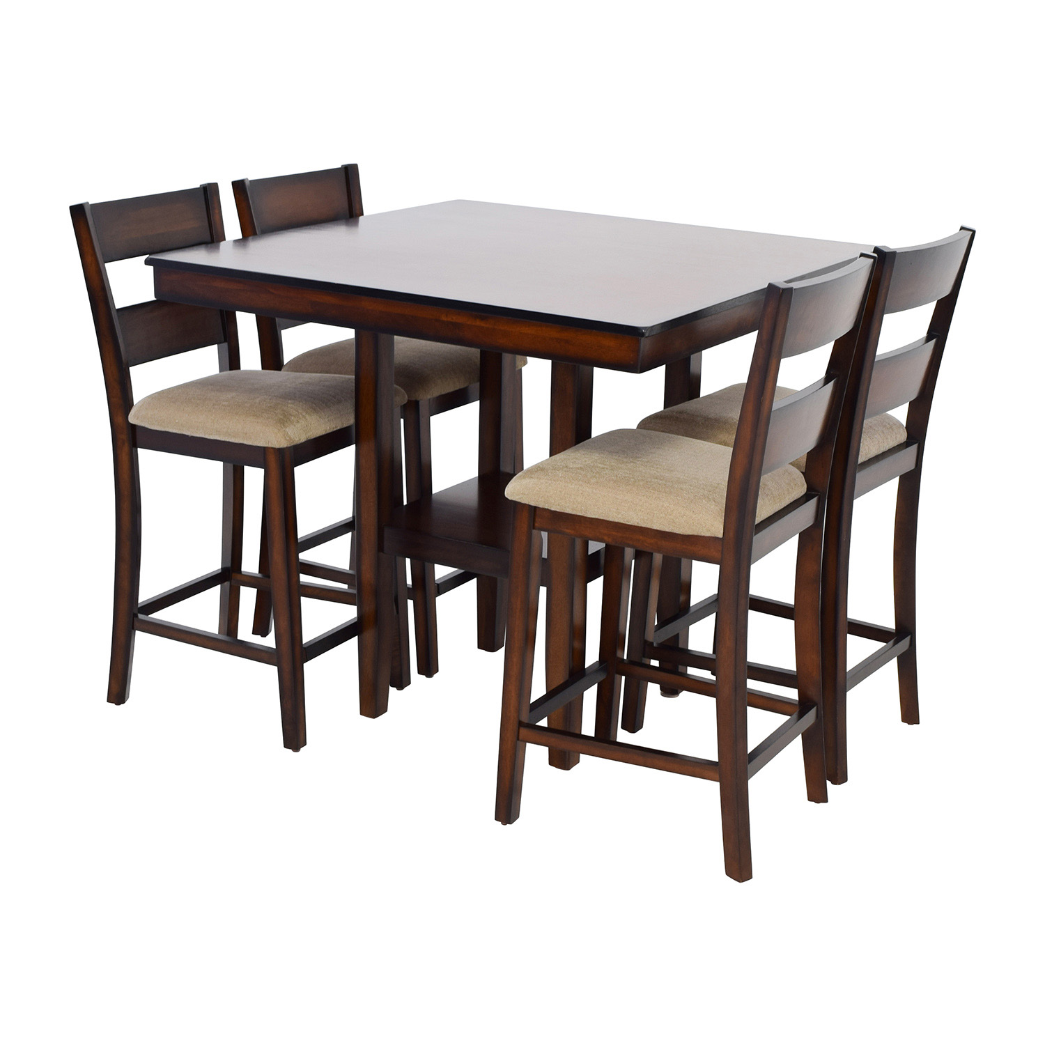 Pleasing 73 Off Macys Macys Branton Counter Height Table With Chairs Tables Home Interior And Landscaping Ologienasavecom