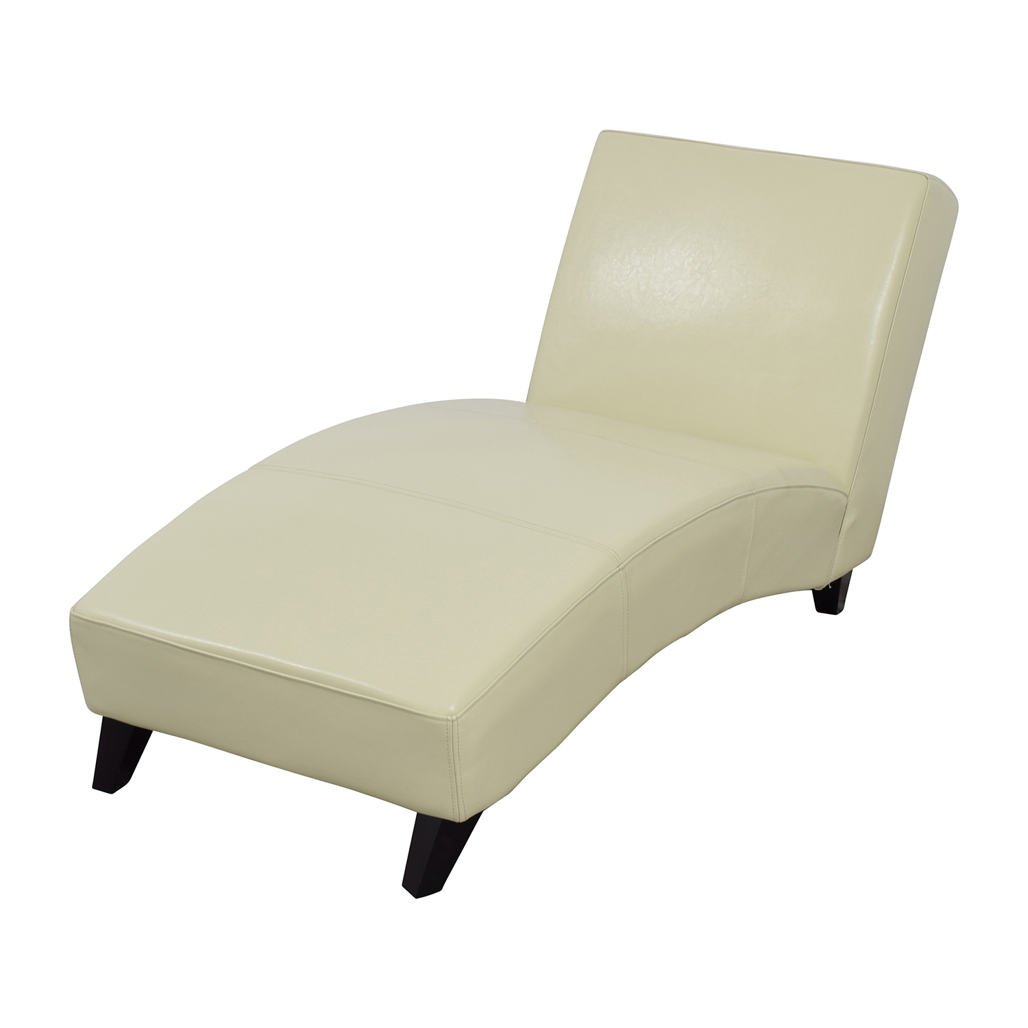 Wayfair White Leather Chaise / Chaises