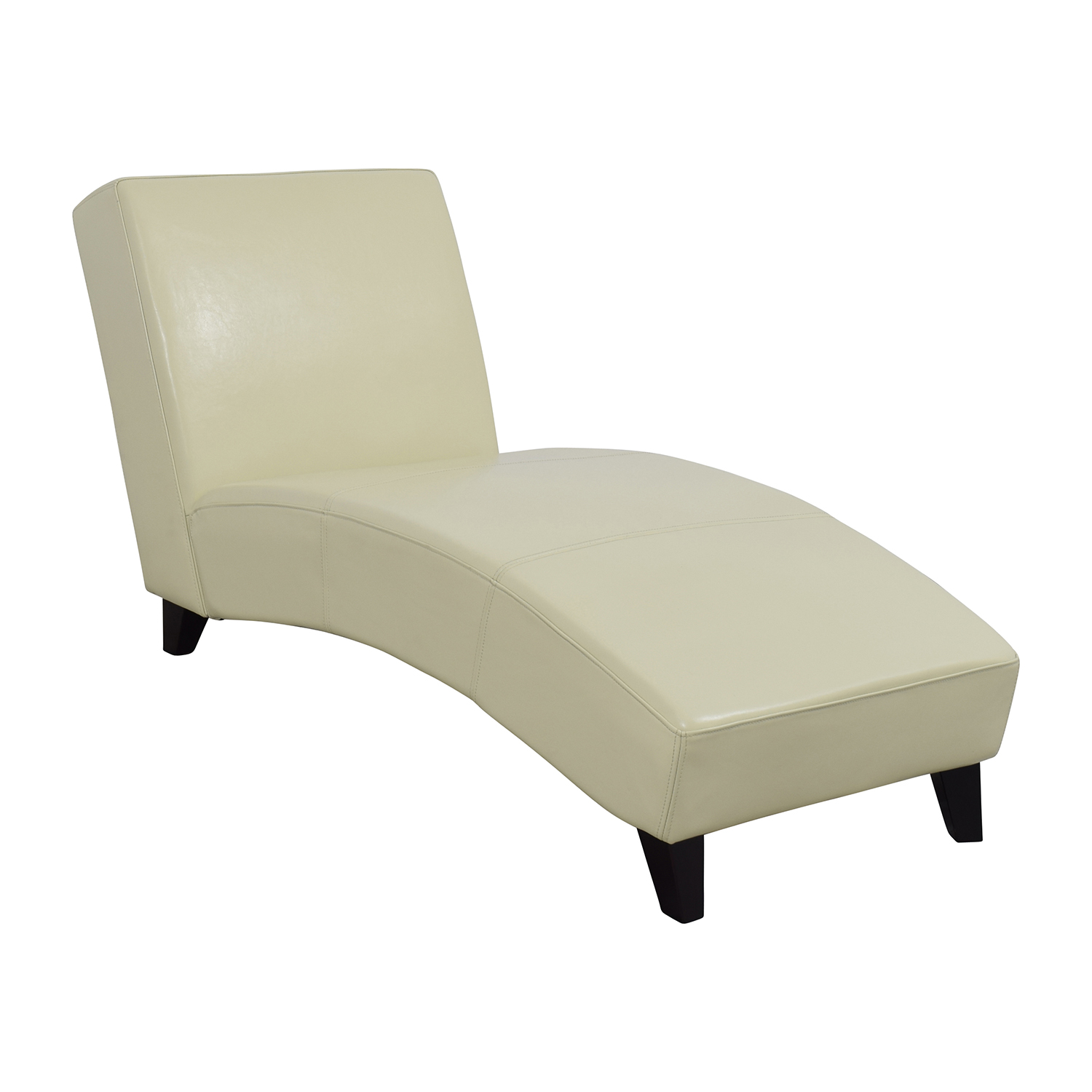 Wayfair White Leather Chaise sale ...  sc 1 st  Furnishare : chaise lounge second hand - Sectionals, Sofas & Couches