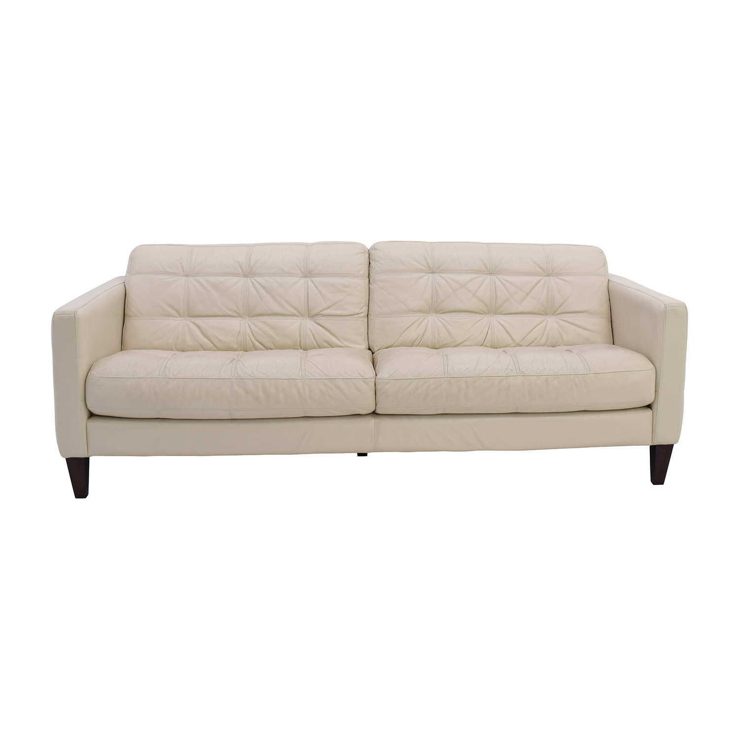 buy Macys Macys Milan Pearl Leather Sofa online