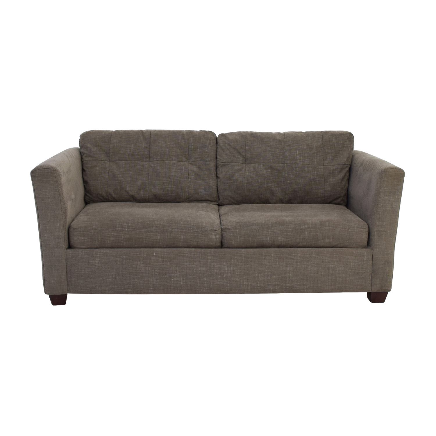 58 off bauhaus bauhaus grey queen sleeper sofa sofas for Bauhaus sofa bed