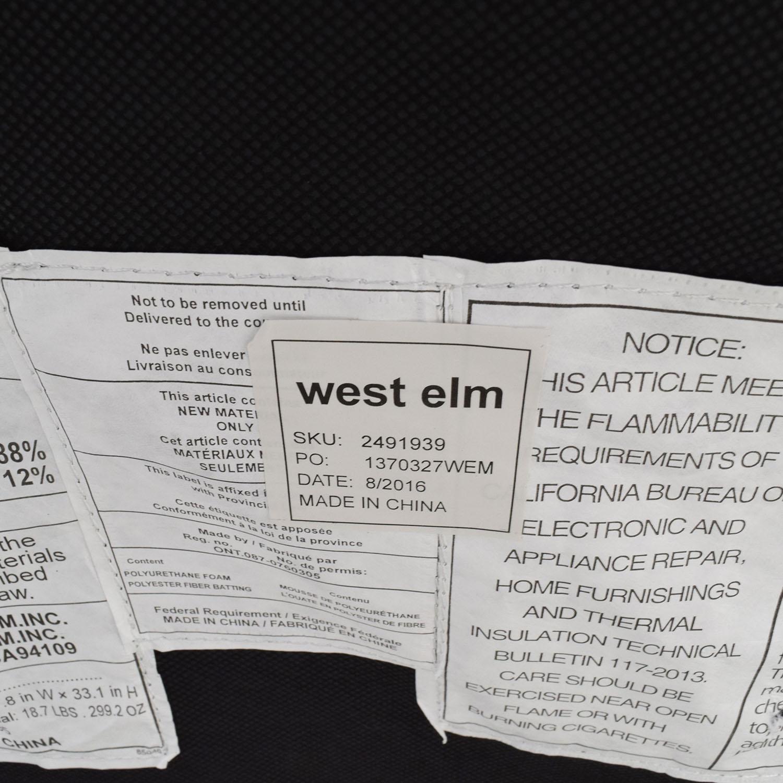 shop West Elm West Elm Kiko Futon Sofa in Charcoal Grey online