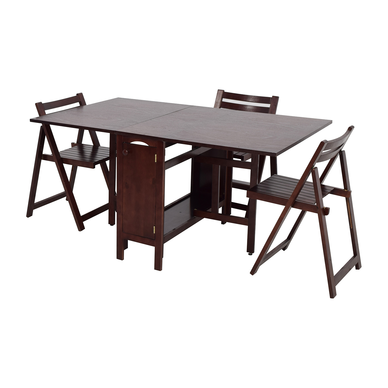 100 Fold Up Kitchen Table 75 Off Bowery Kitchen  : second hand storable kitchen table with folding chairs from 45.76.66.238 size 1500 x 1500 jpeg 272kB