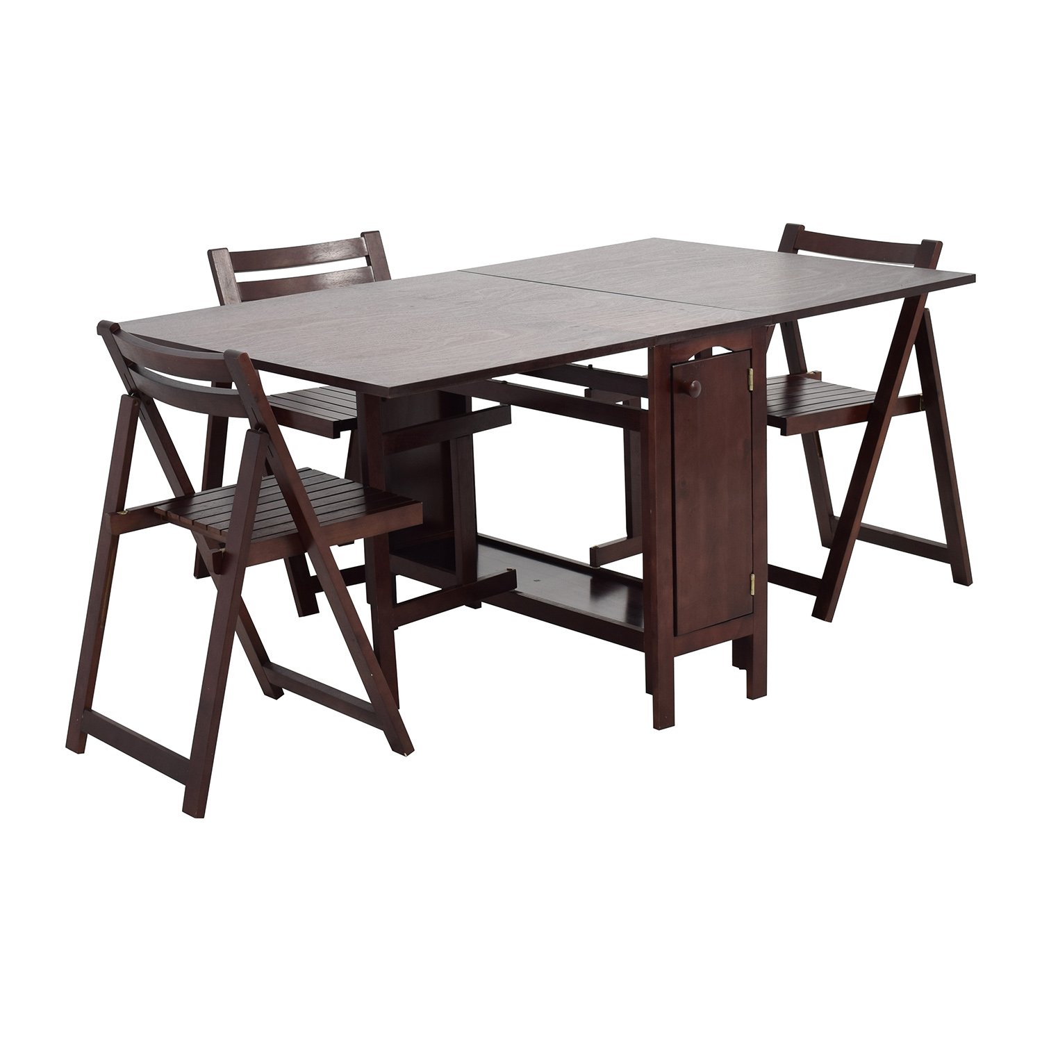 OFF Home Depot Foldable Kitchen Table with Folding Chairs