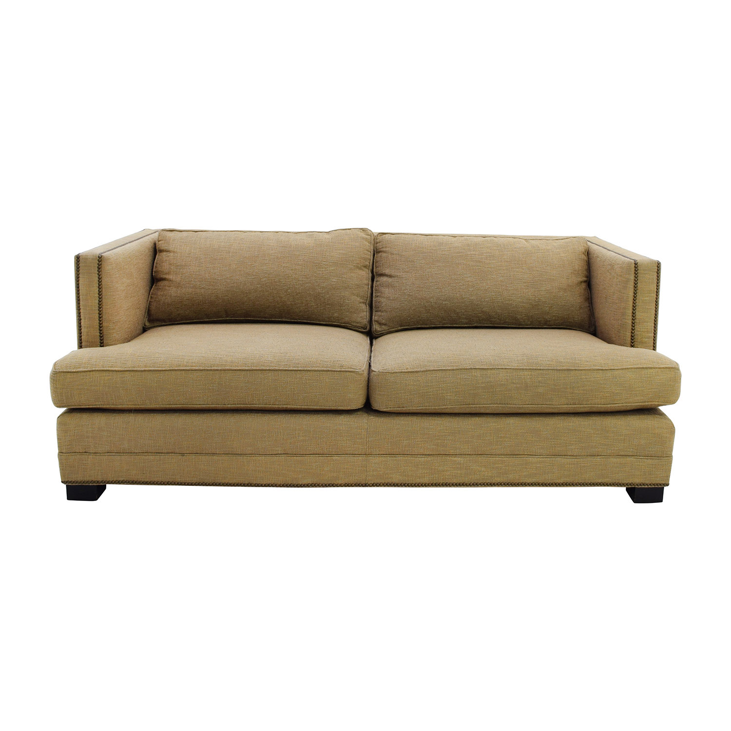 shop Mitchell Gold + Bob Williams Mitchell Gold & Bob Williams Nailhead Trimmed Sofa online