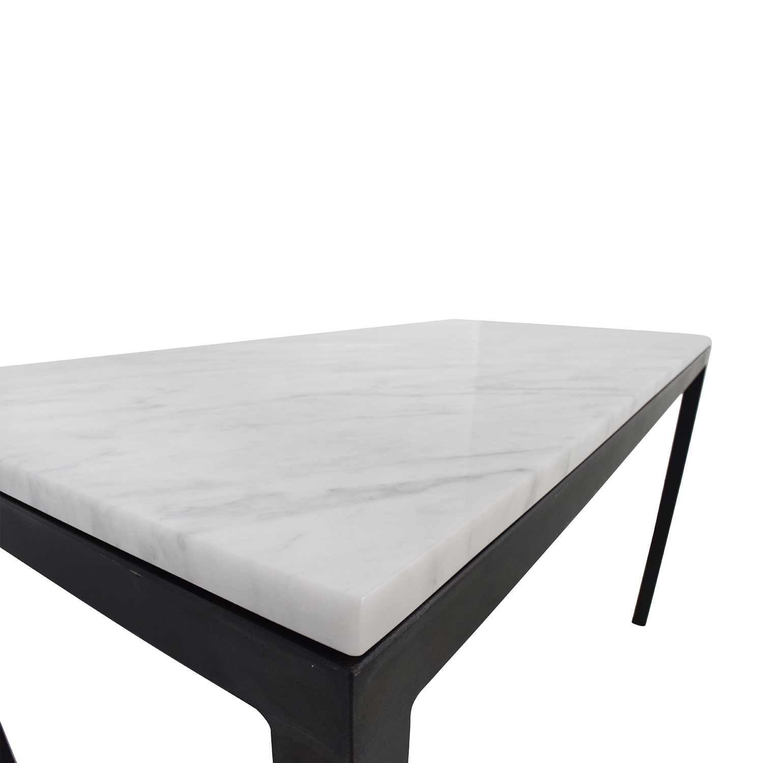 Room And Board Room U0026 Board White Venatino Marble Parsons Table Accent  Tables