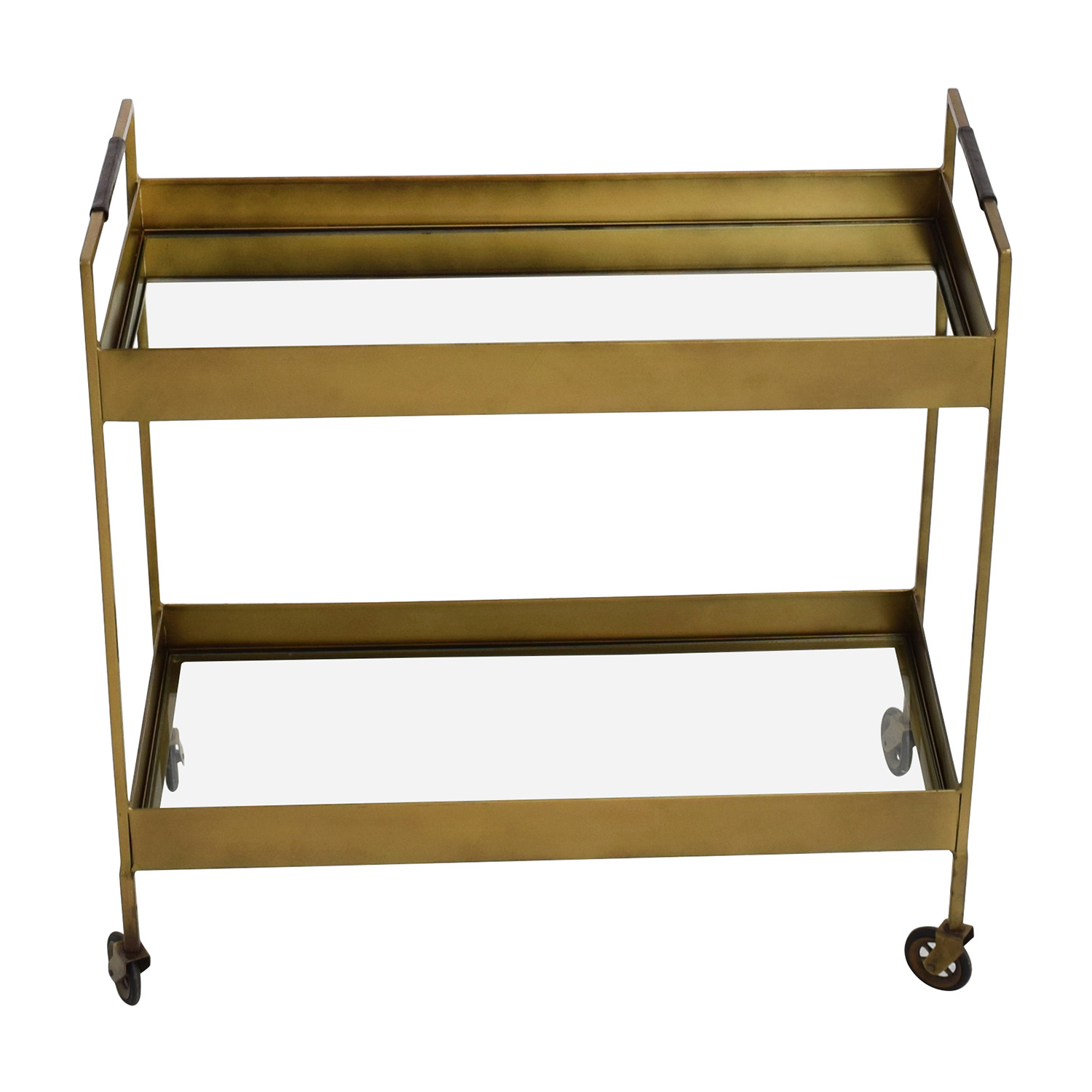 buy Crate & Barrel Libations Bar Cart Crate and Barrel