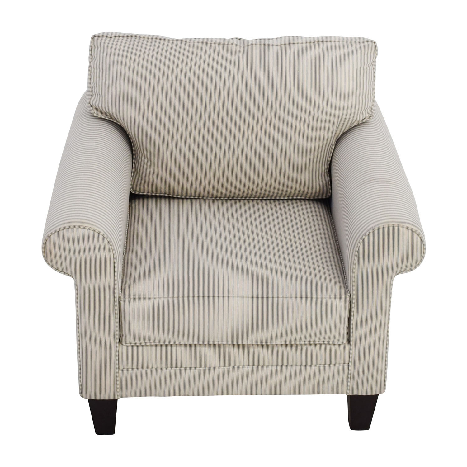 Raymour and Flanigan Raymour and Flanigan Striped Cream Chair coupon