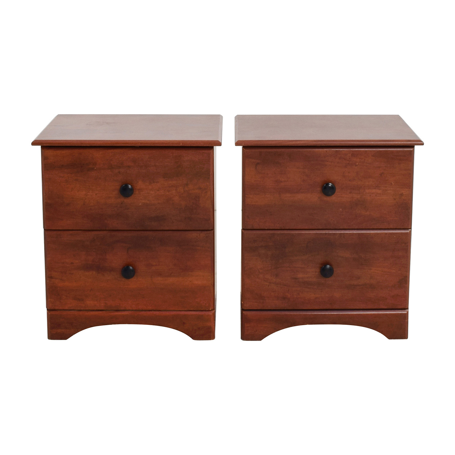 Perdue Perdue Dark Brown Two-Drawer Nightstand price