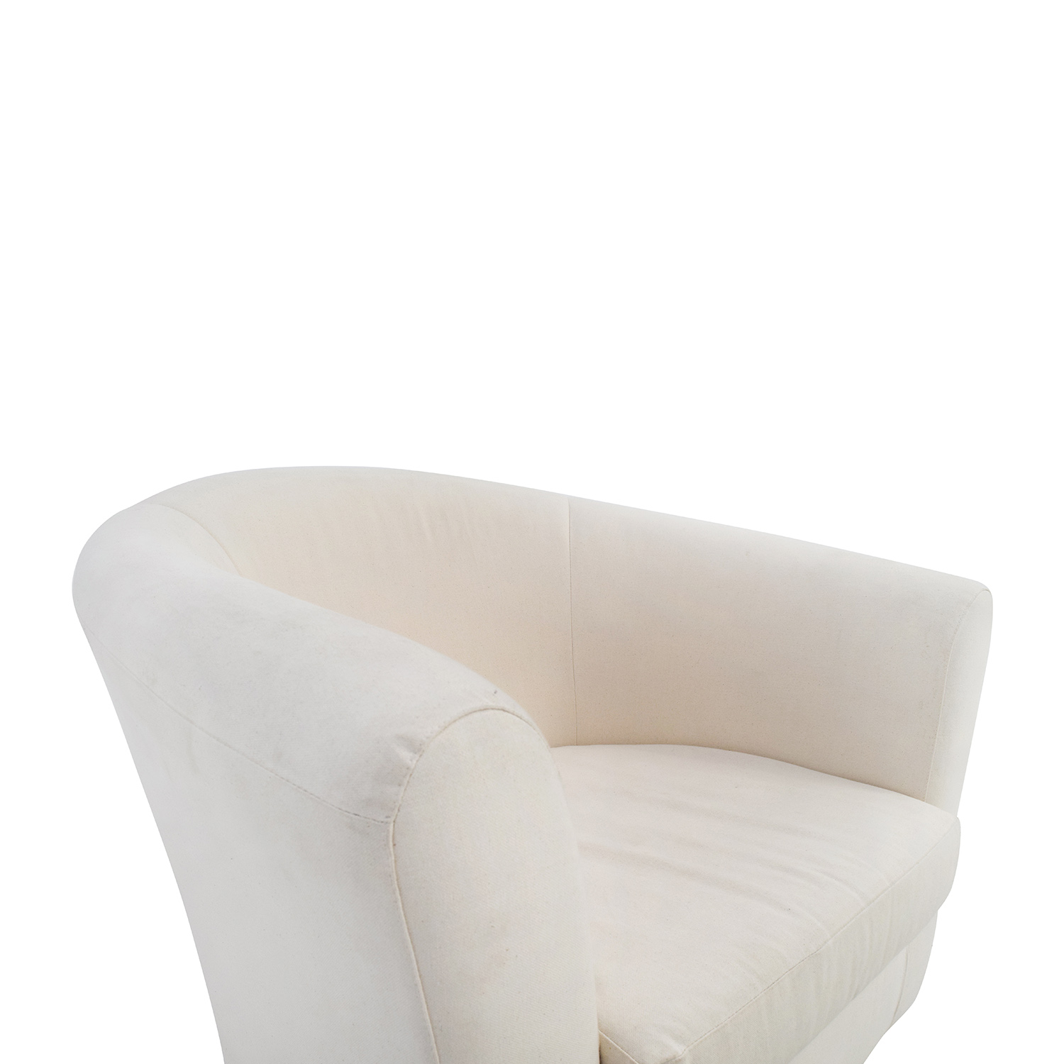 68% OFF Cream Accent Chair Chairs