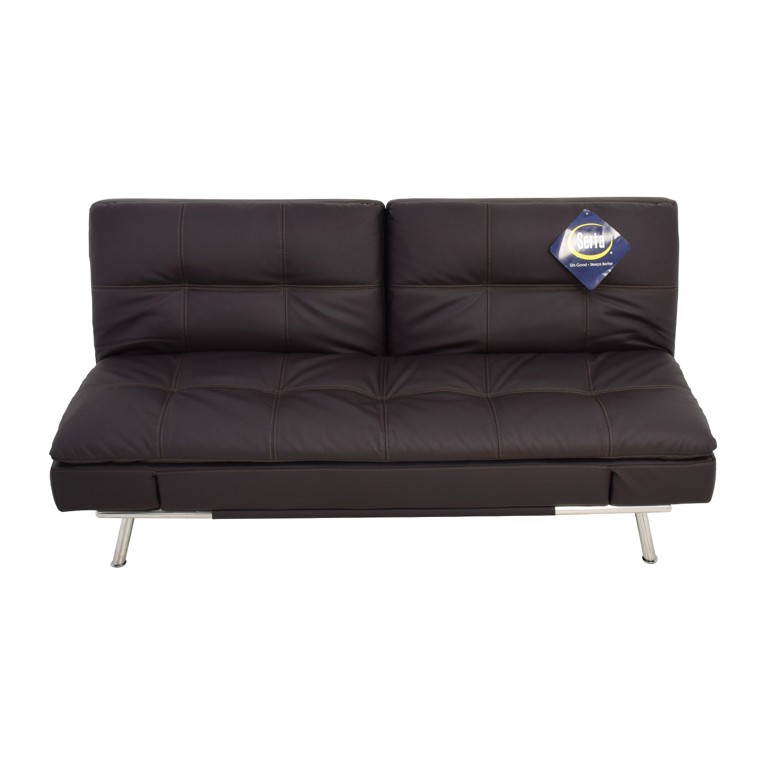 Lifestyle Solutions Serta Lifestyle Solutions Serta Matrix Leather Sleeper Sofa coupon
