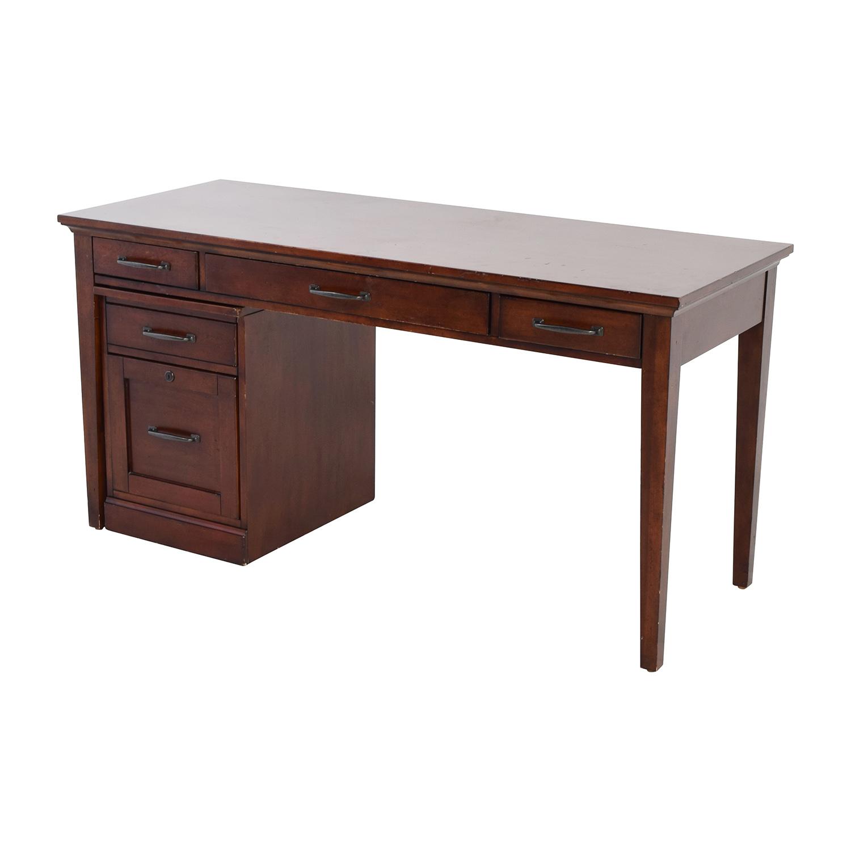Nebraska Furniture Mart Desk and Rolling File Cabinet Nebraska Furniture Mart
