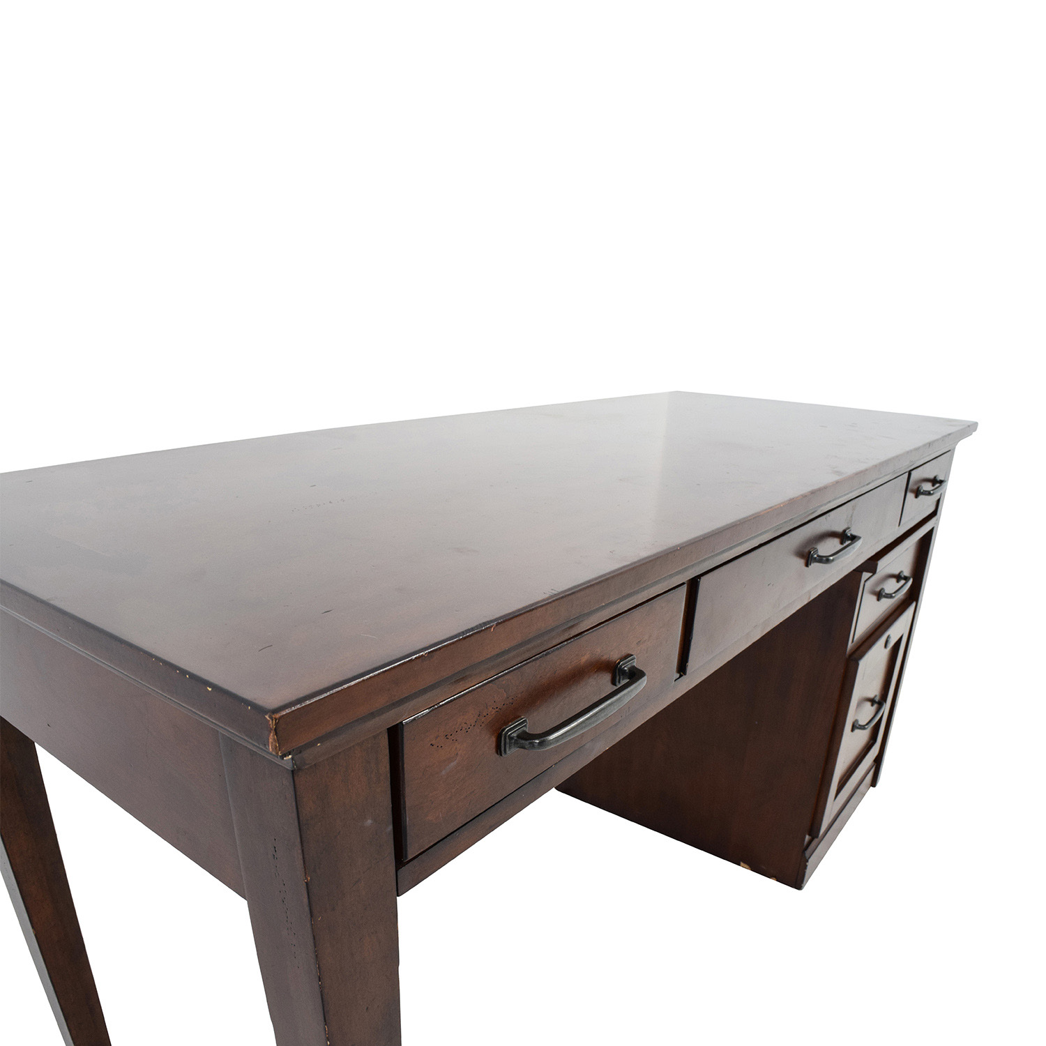 Nebraska Furniture Mart Desk And Rolling File Cabinet