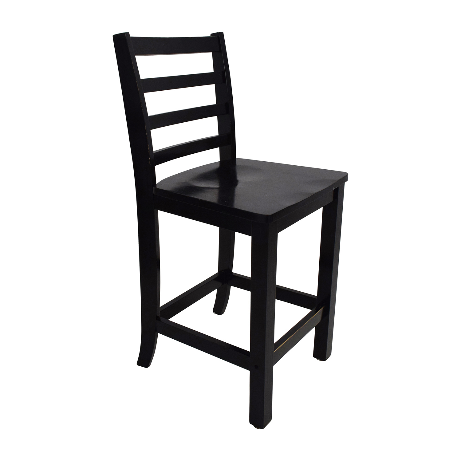 59 Off Counter Black Round Table With Chairs And Stool