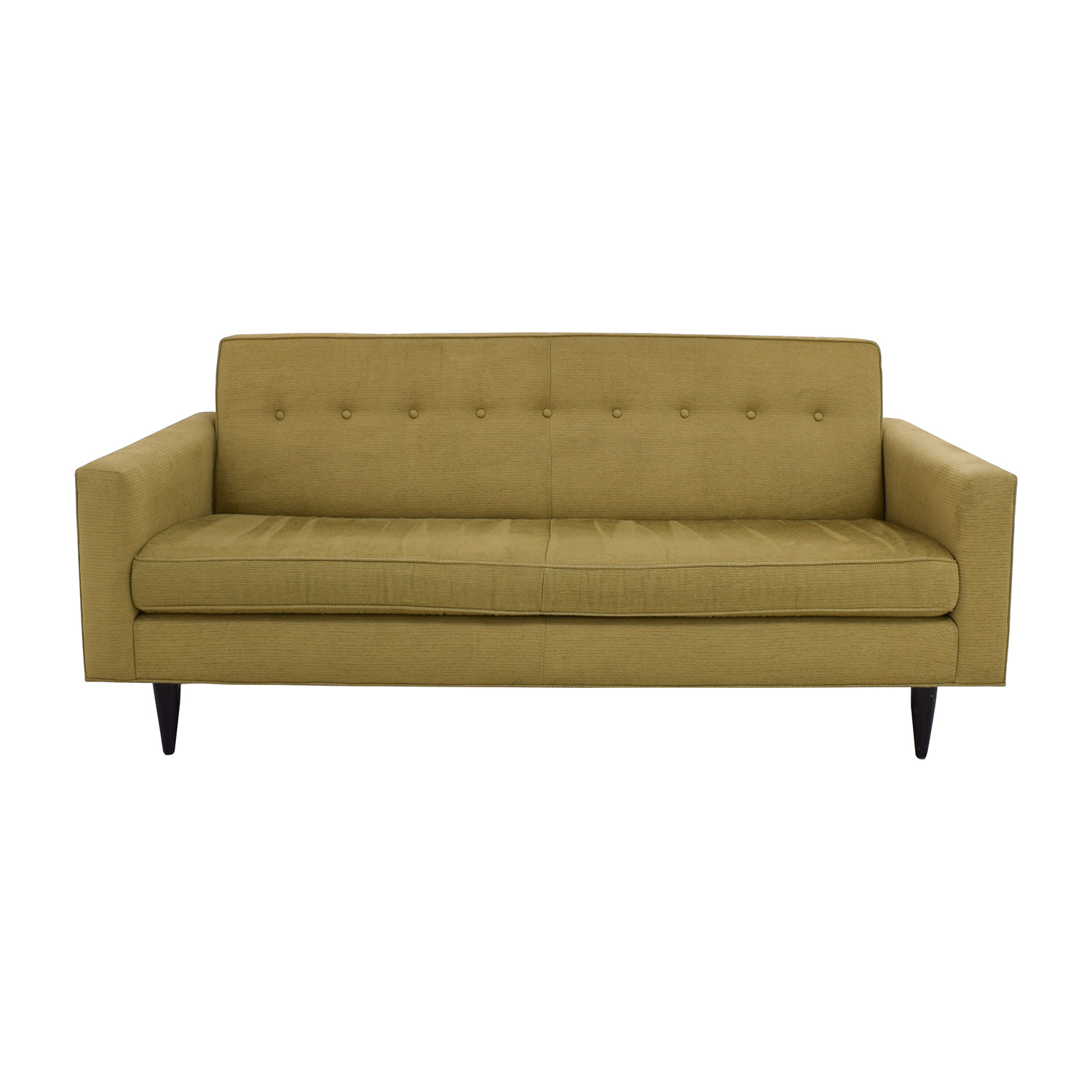 Design Within Reach Design Within Reach Bantam Tufted Green Sofa price