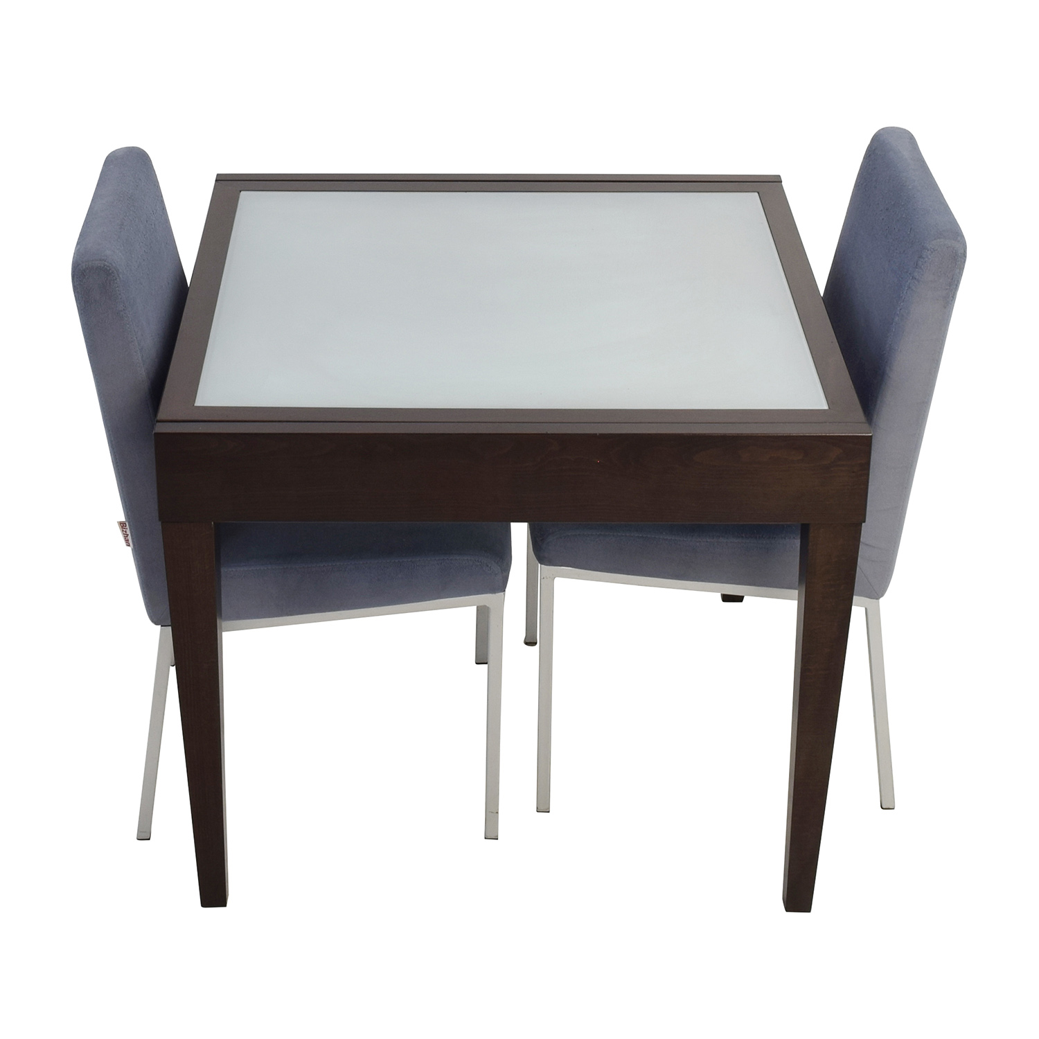 Design Within Reach Design Within Reach Wood Spanna Extendable Table with Chairs for sale