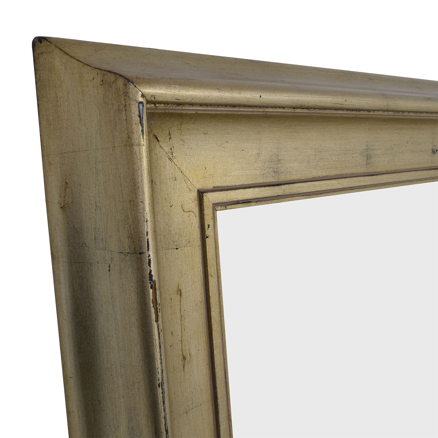 Standing Gold Framed Mirror on sale