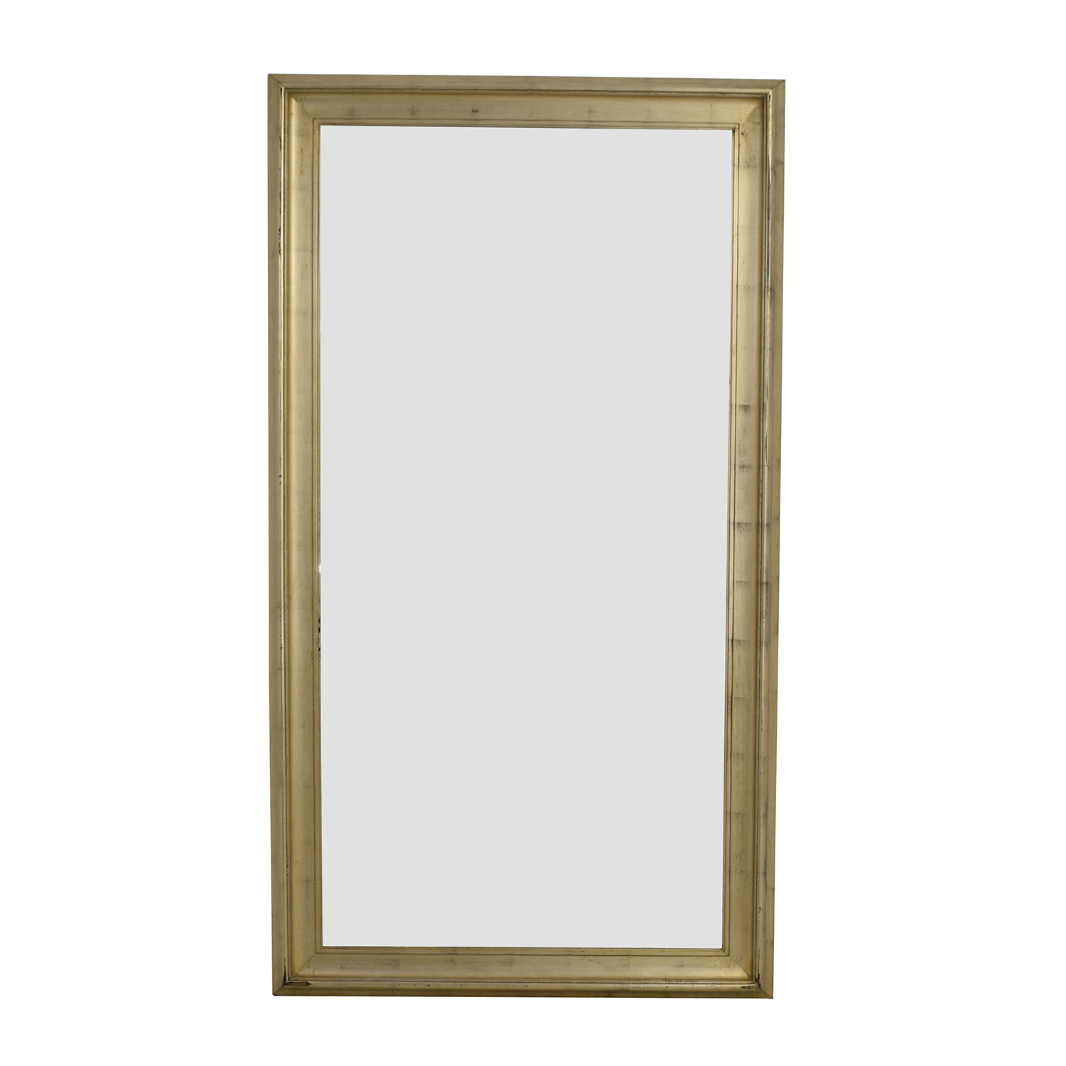 buy Standing Gold Framed Mirror Decor