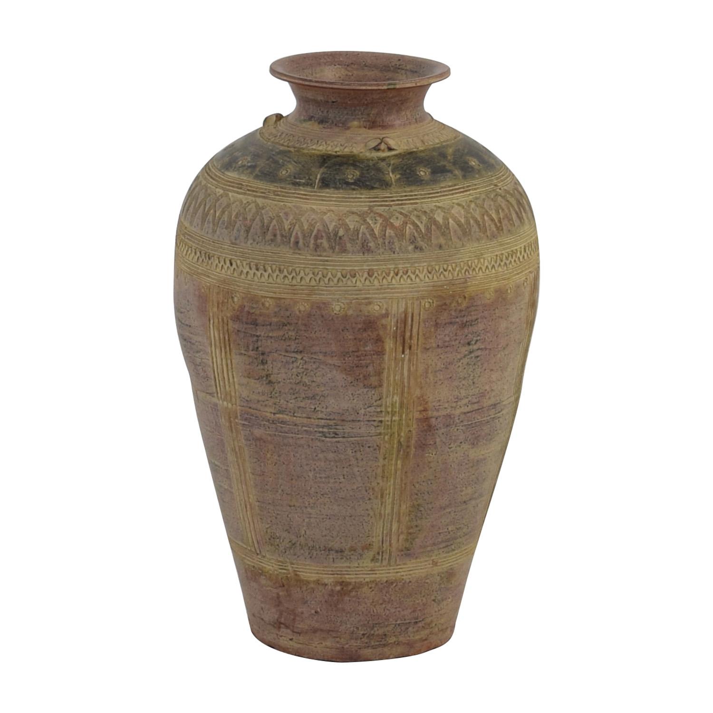 71 Off Rustic Stone Ceramic Vase Decor