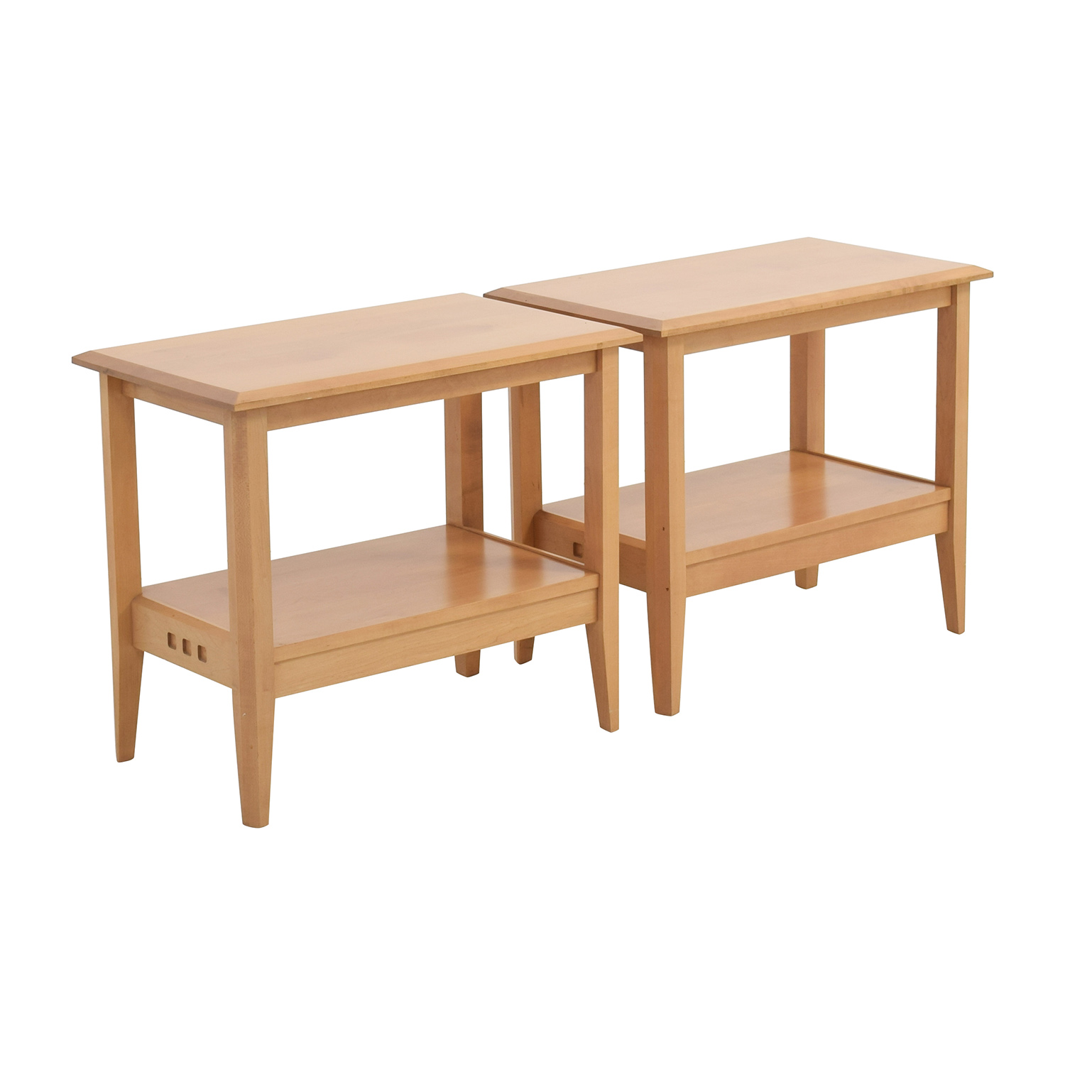 86 Off Baronet Of Canada Baronet Ungava Wood End Tables Tables