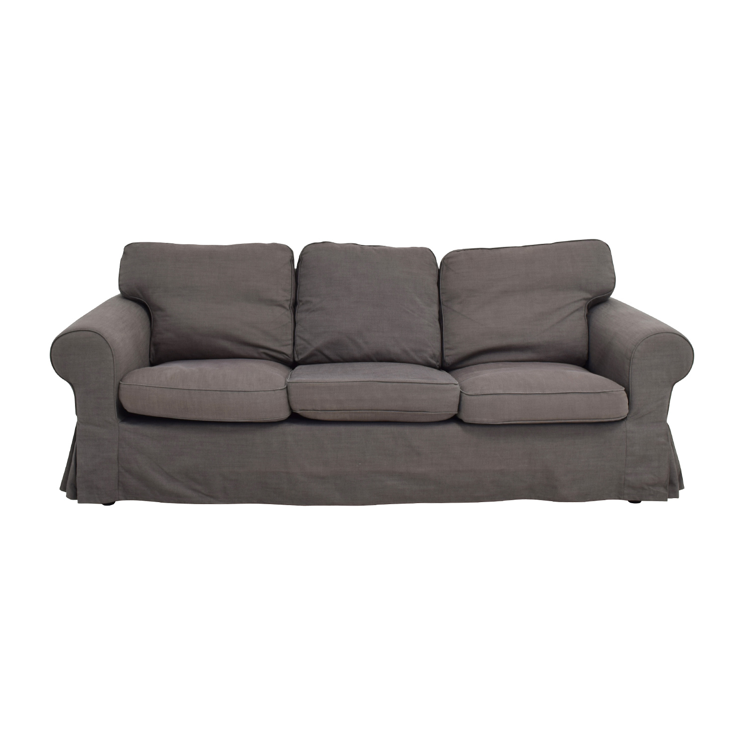 shop IKEA IKEA Ektorp Grey Skirted Sofa online
