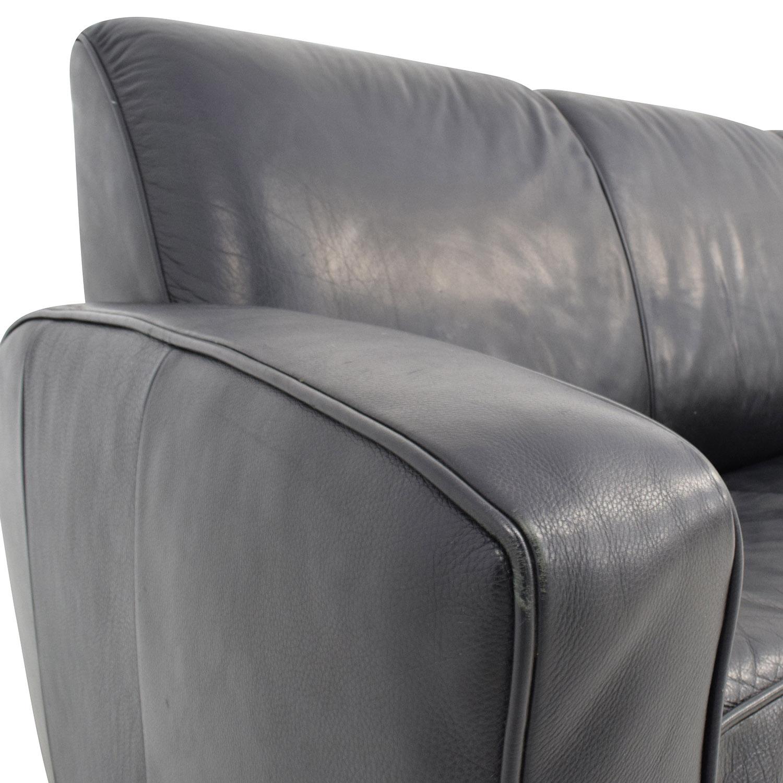 90 Off Leggett And Platt Leggett Platt Black Leather Sofa Bed  ~ Leggett And Platt Leather Recliner Sofa