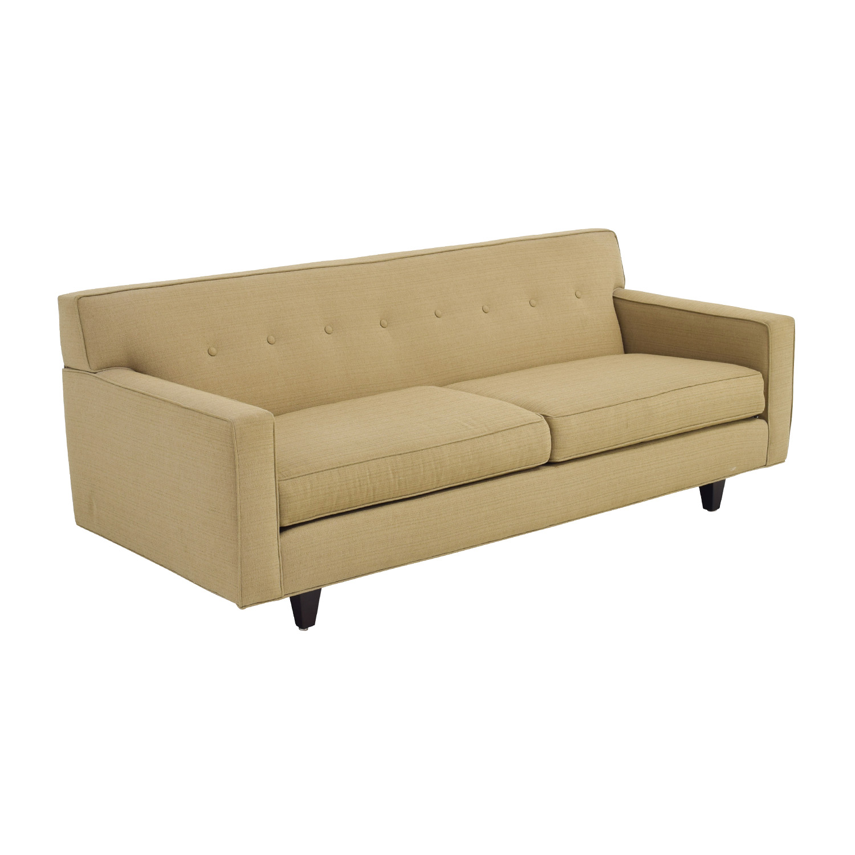 49 Off Rowe Furniture Rowe Furniture Contemporary Dorset Oatmeal Sofa Sofas