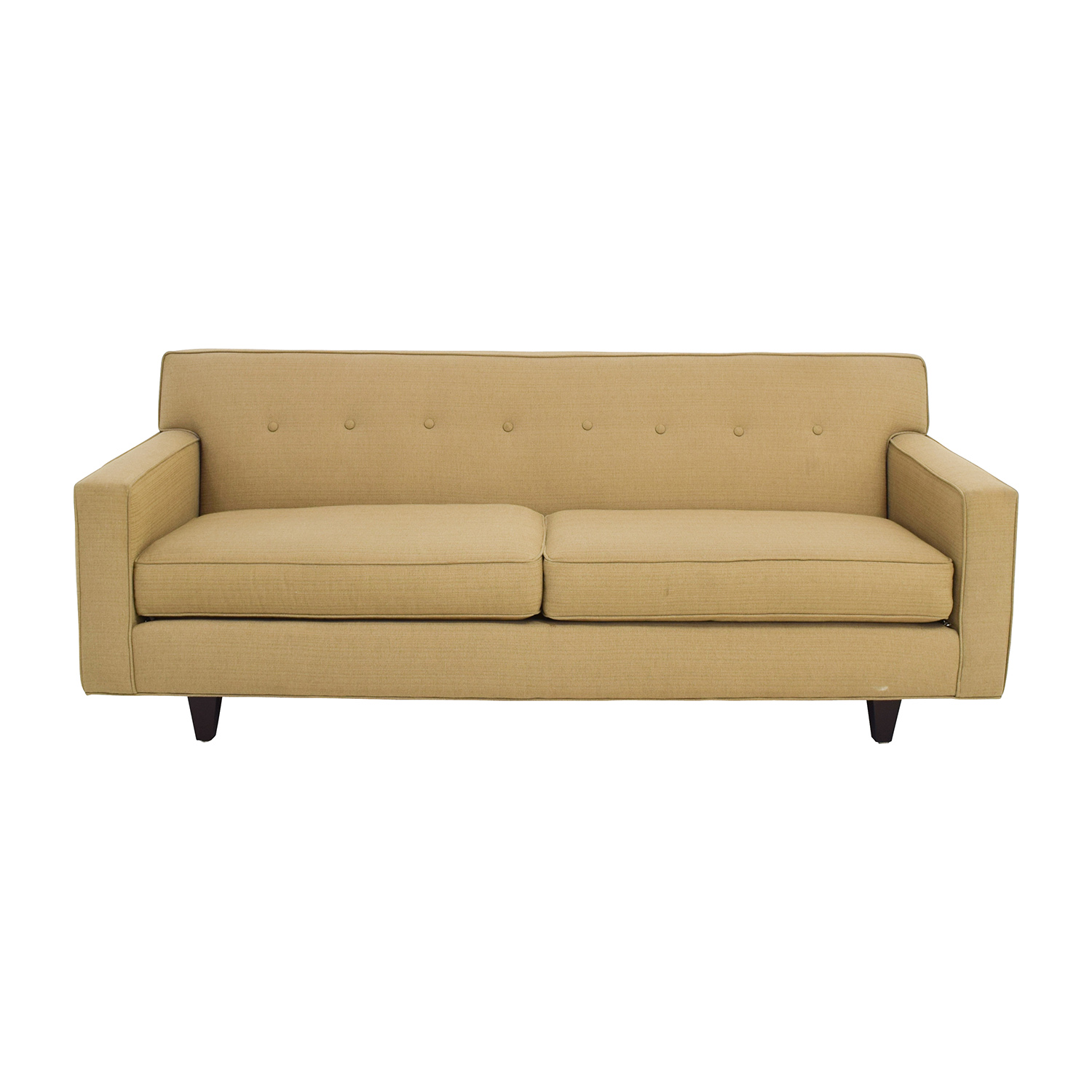 49 Off Rowe Furniture Contemporary Dorset Oatmeal Sofa Sofas