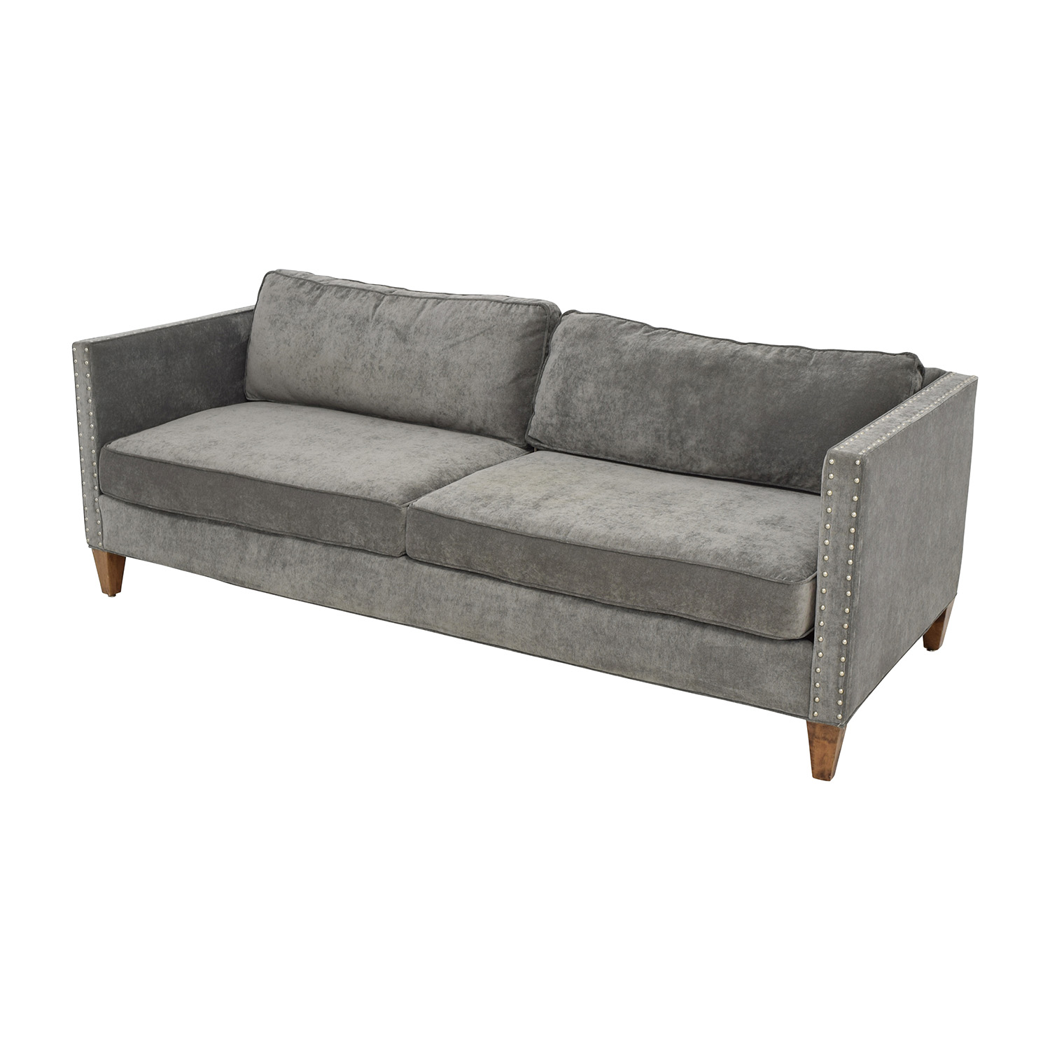 Perfect ... Buy Rowe Furniture Mitchell Grey Studded Sofa Rowe Furniture Sofas ...