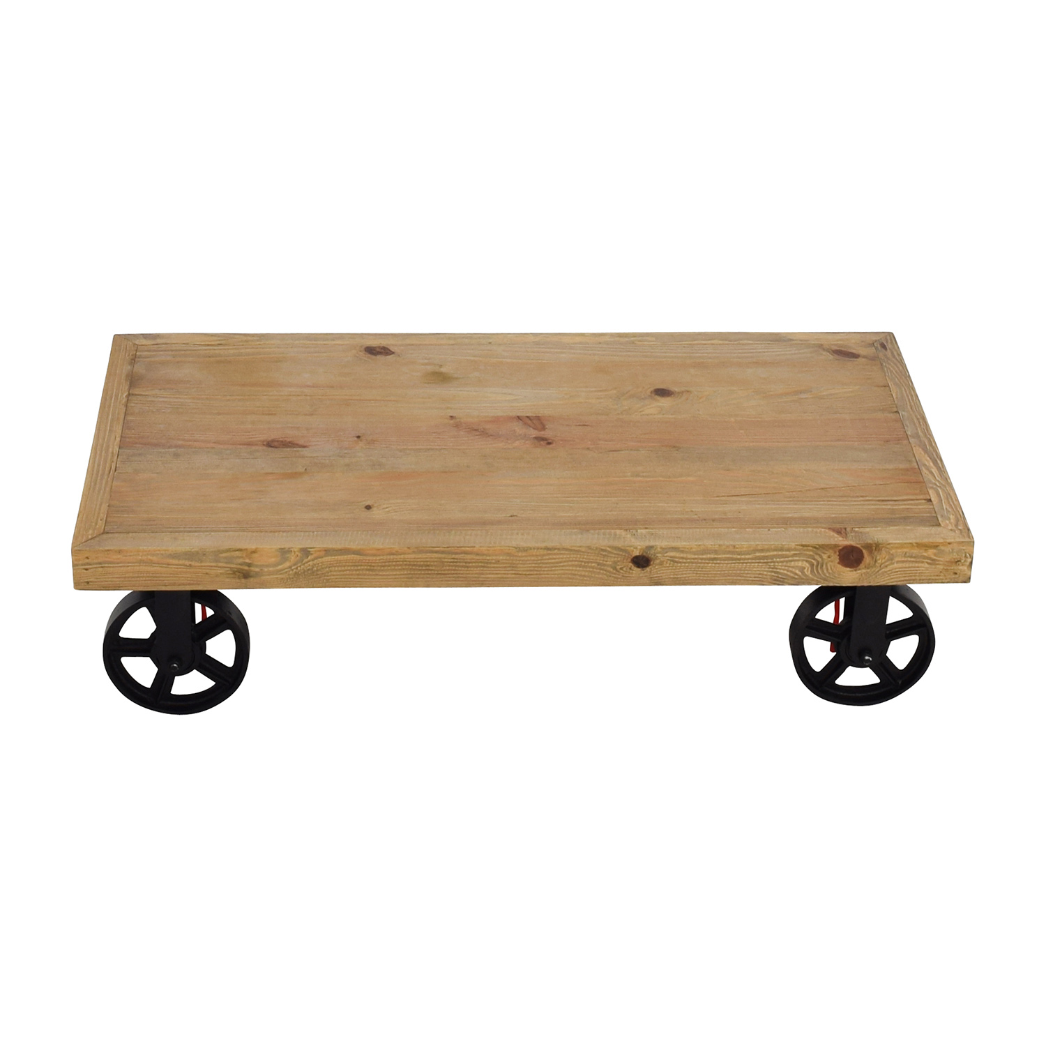 Rustic Cart Coffee Table Tables