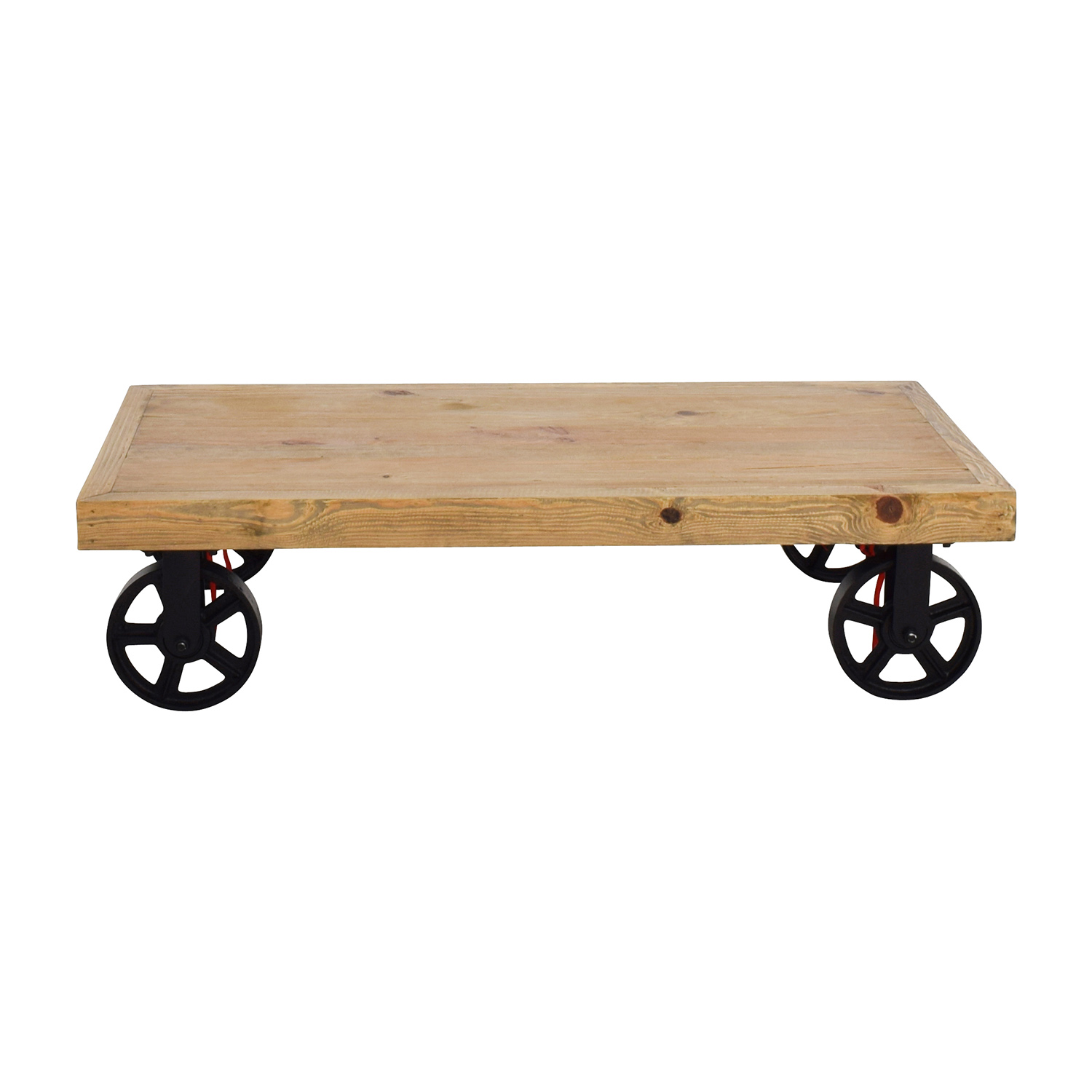 Rustic Cart Coffee Table