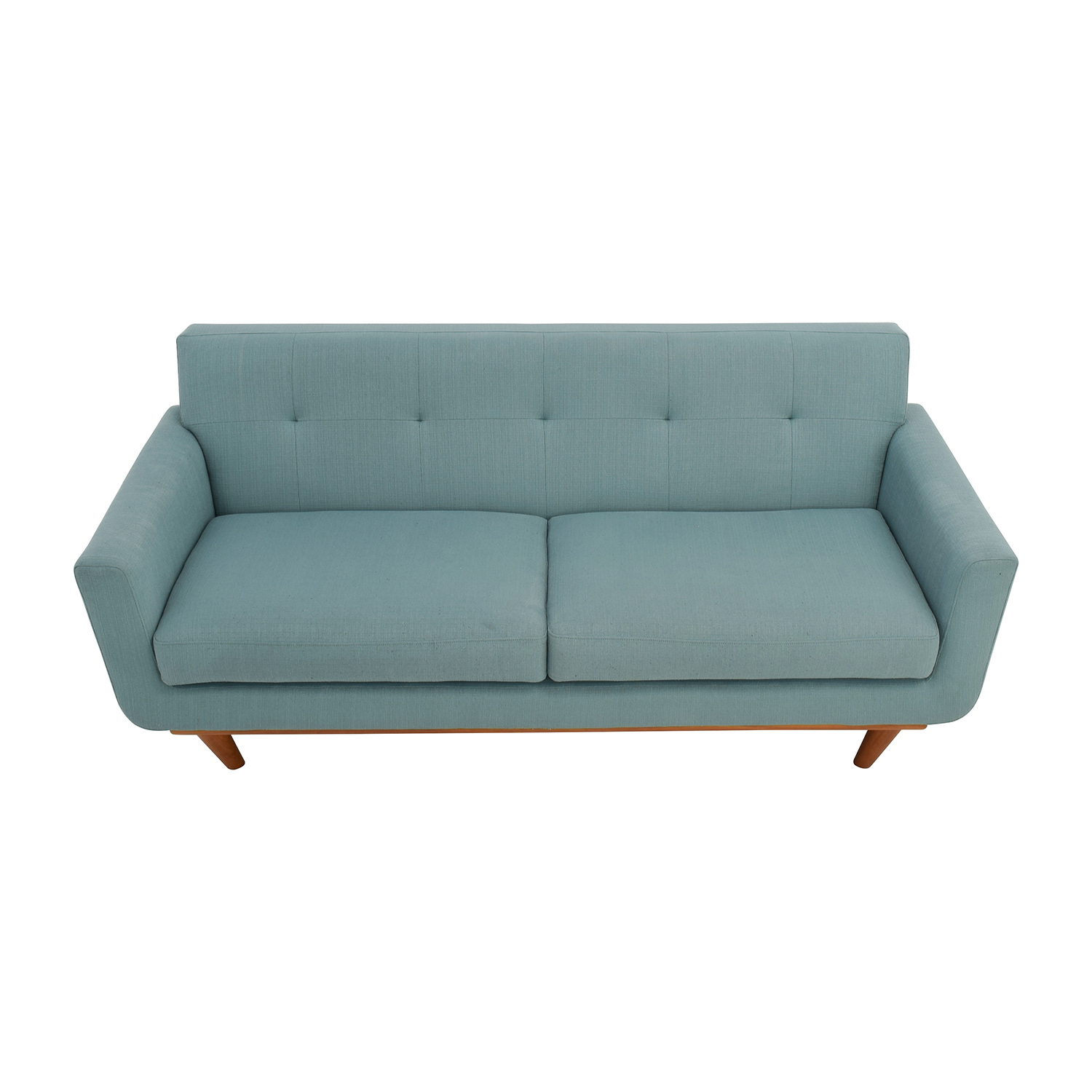 Fresh teal sofas for sale marmsweb marmsweb for Teal leather couch