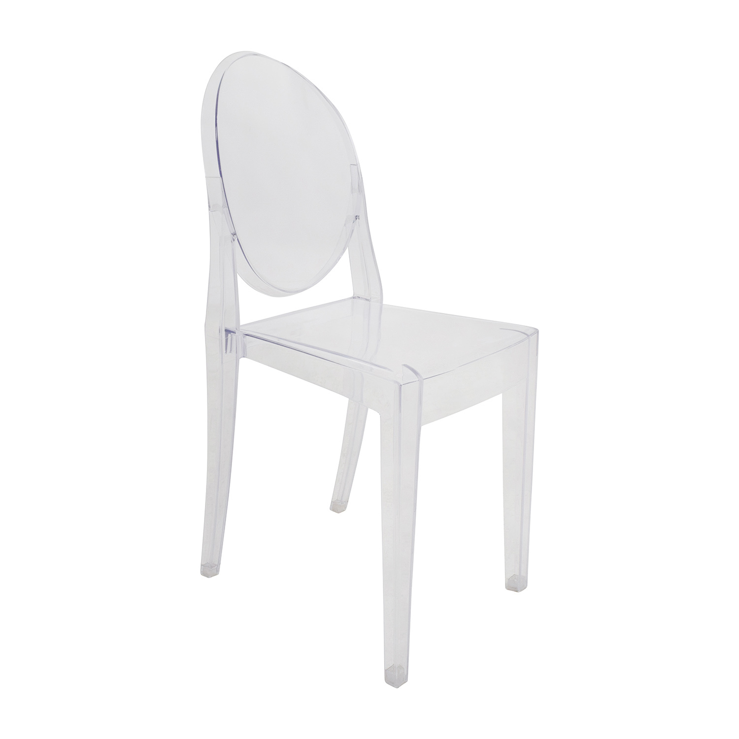 ... White Dining Table Set With Two Ghost Chairs Discount