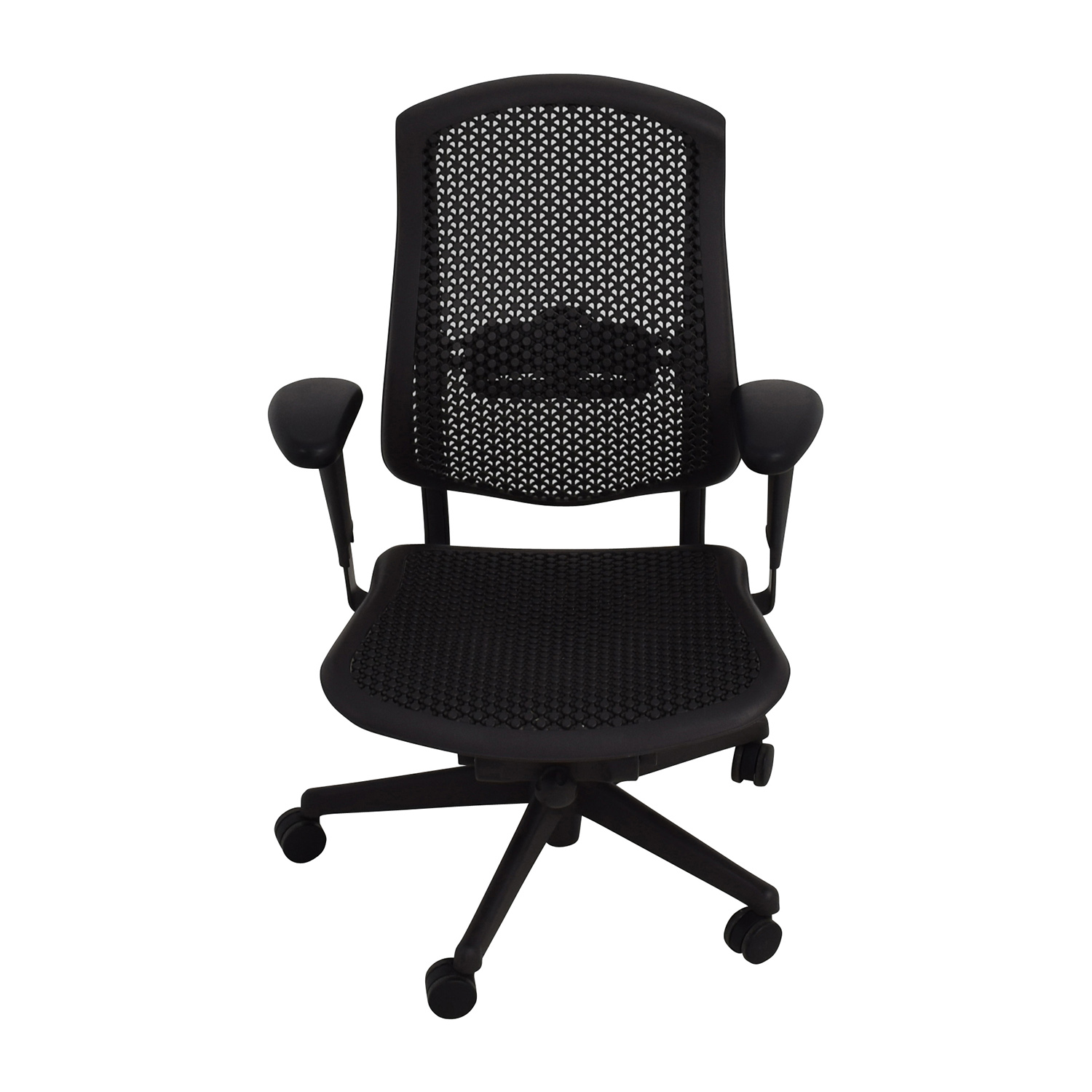shop Herman Miller Herman Miller Biomorph Ergonomic Black Desk Chair online