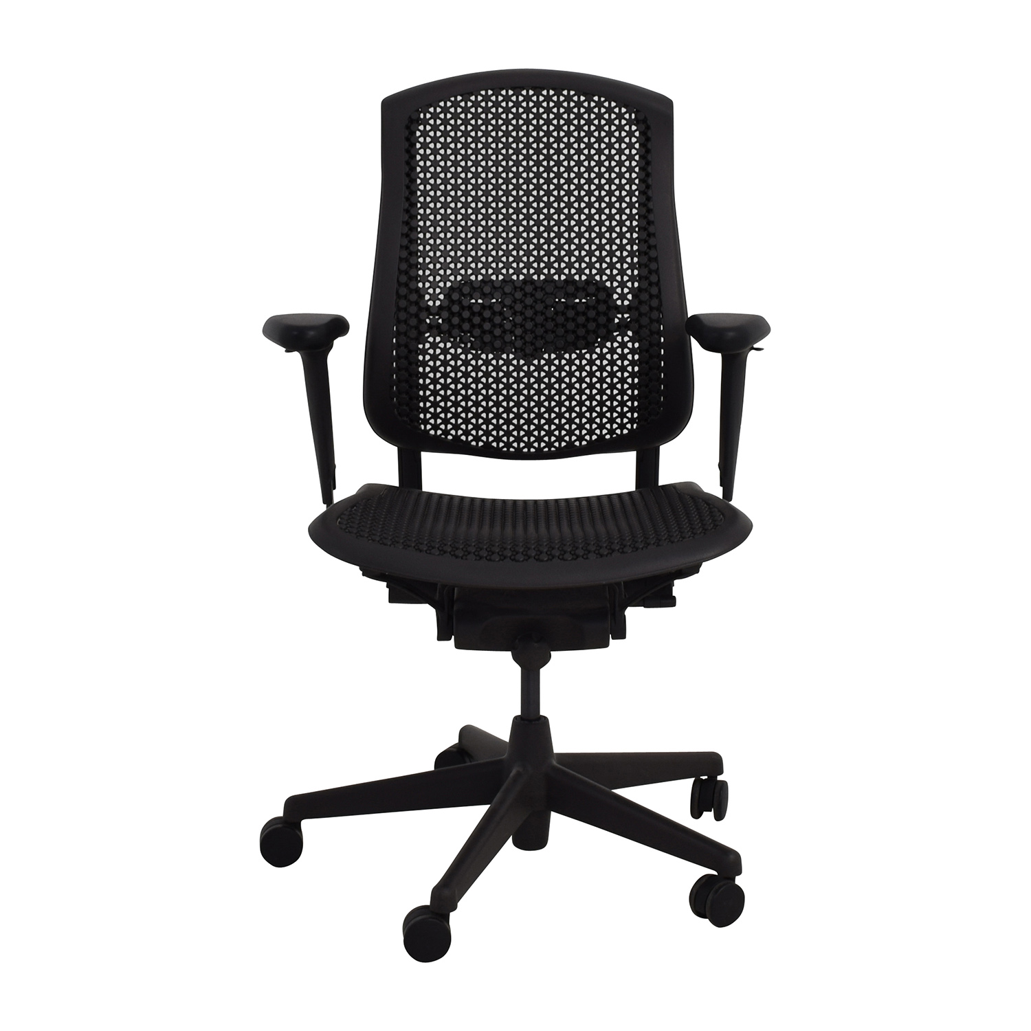 shop Herman Miller Biomorph Ergonomic Black Desk Chair Herman Miller