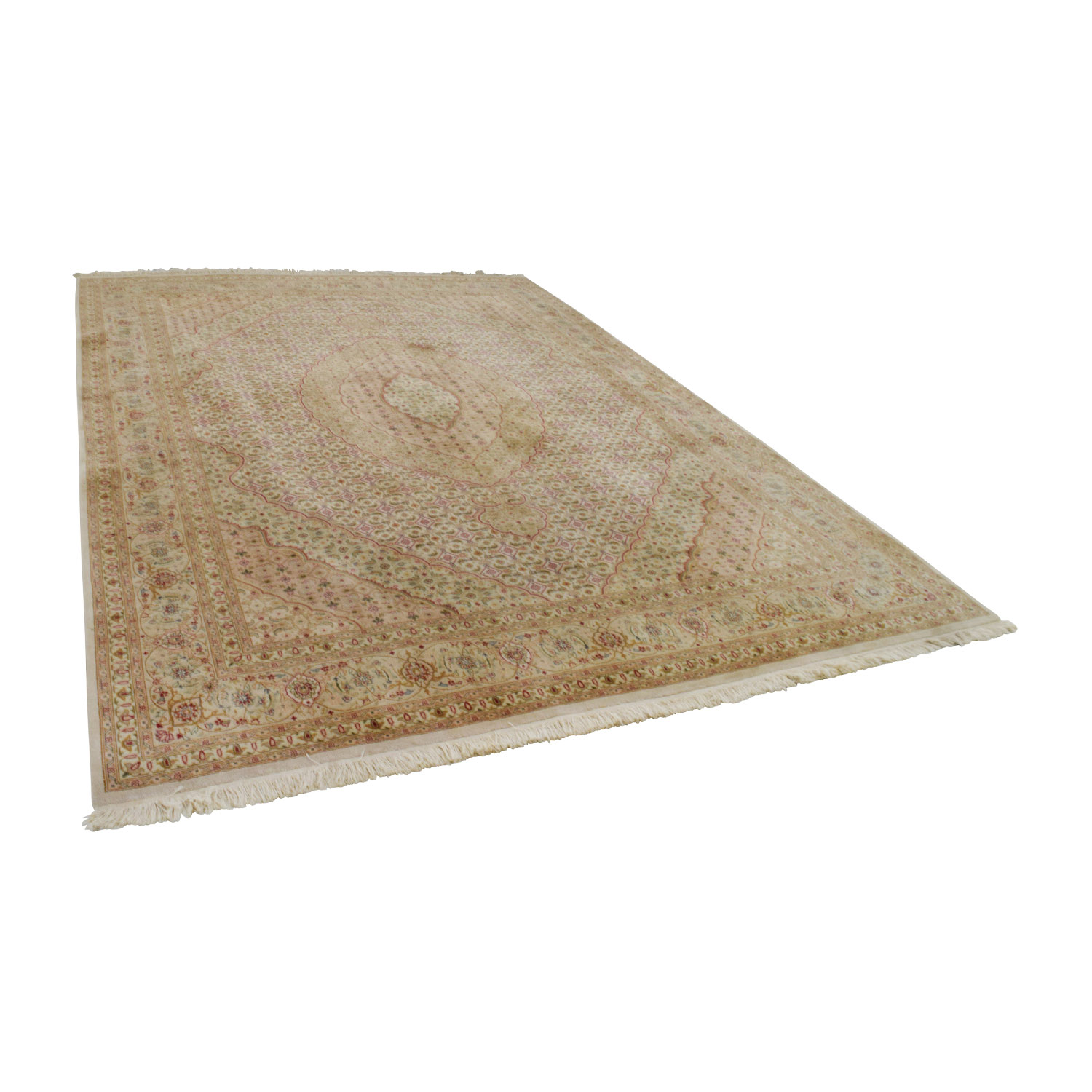 Macys Macys Beige Multi-Colored Rug used