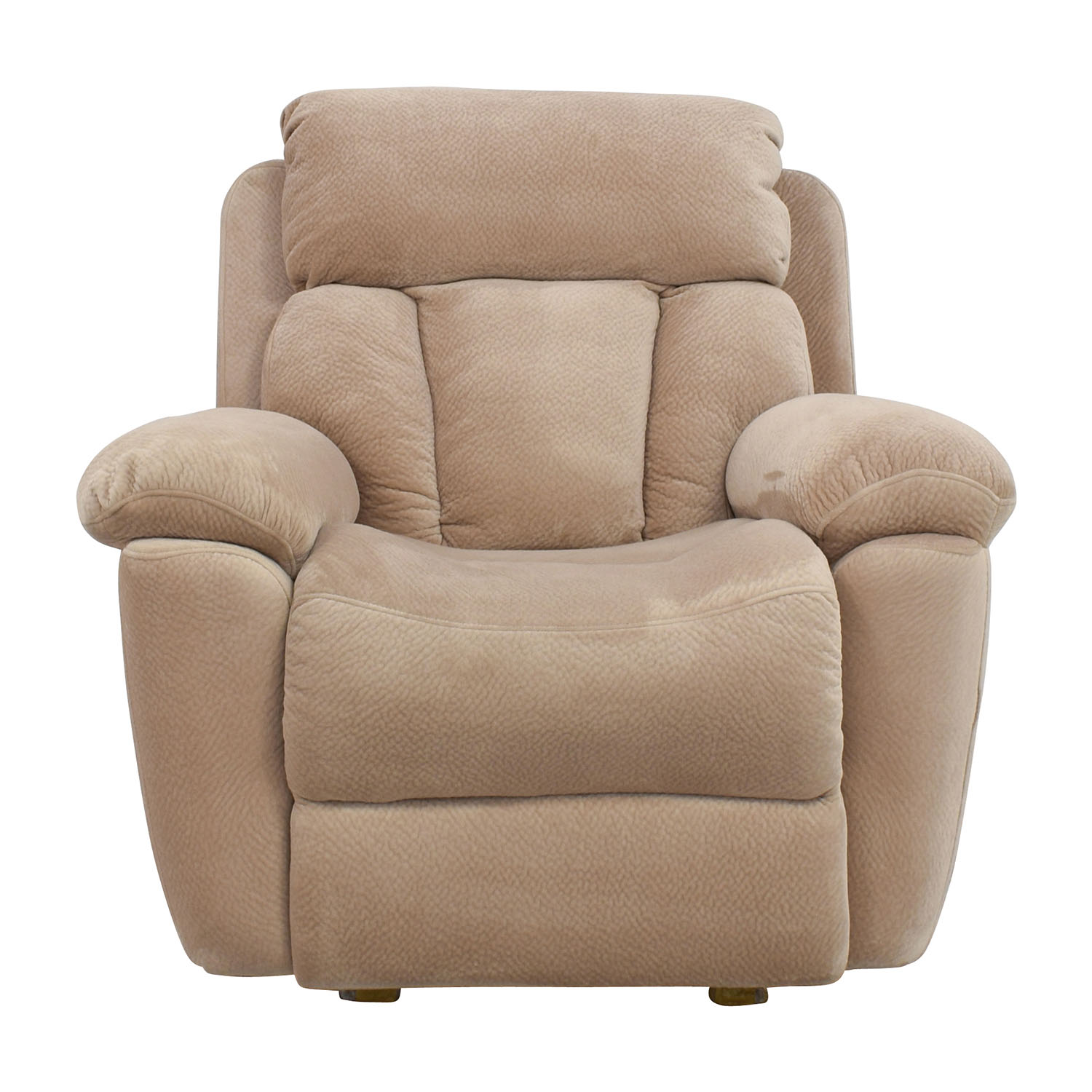 Jennifer Furniture Jennifer Furniture Beige Microfiber Recliner Chair coupon
