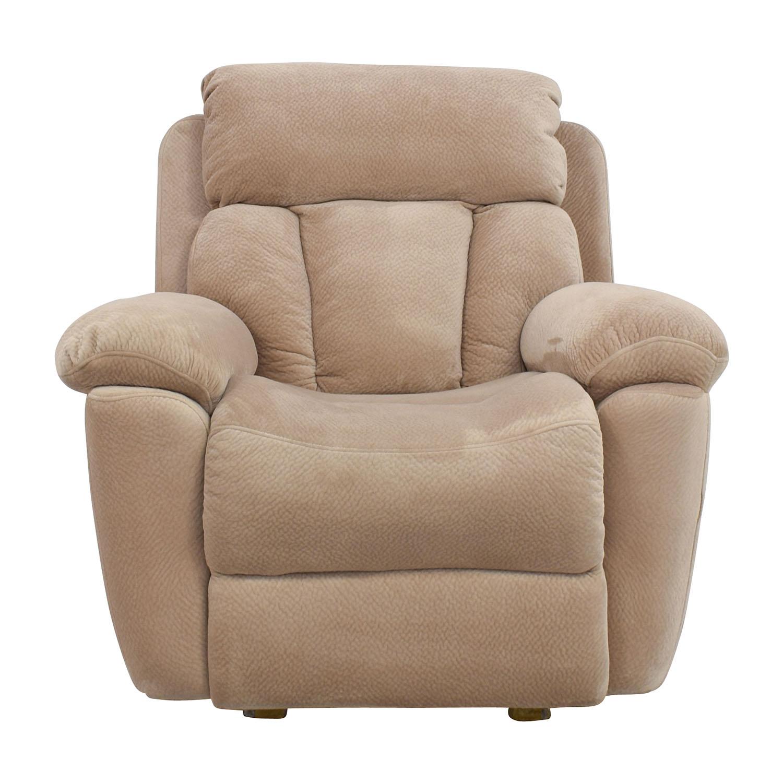 73 Off Jennifer Furniture Jennifer Furniture Beige Microfiber