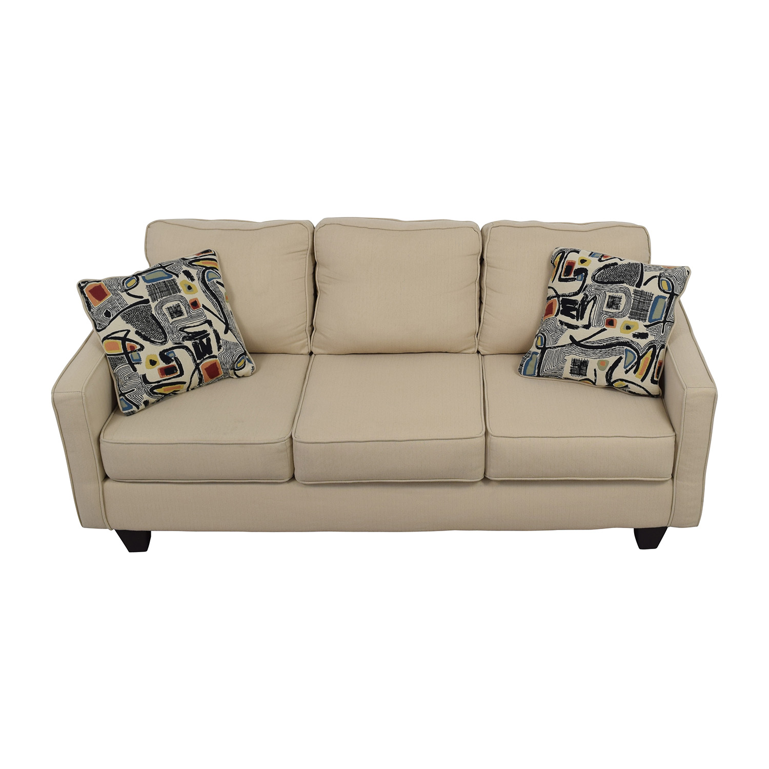Warefair Com: Wayfair Wayfair AllModern Three Cushion Beige