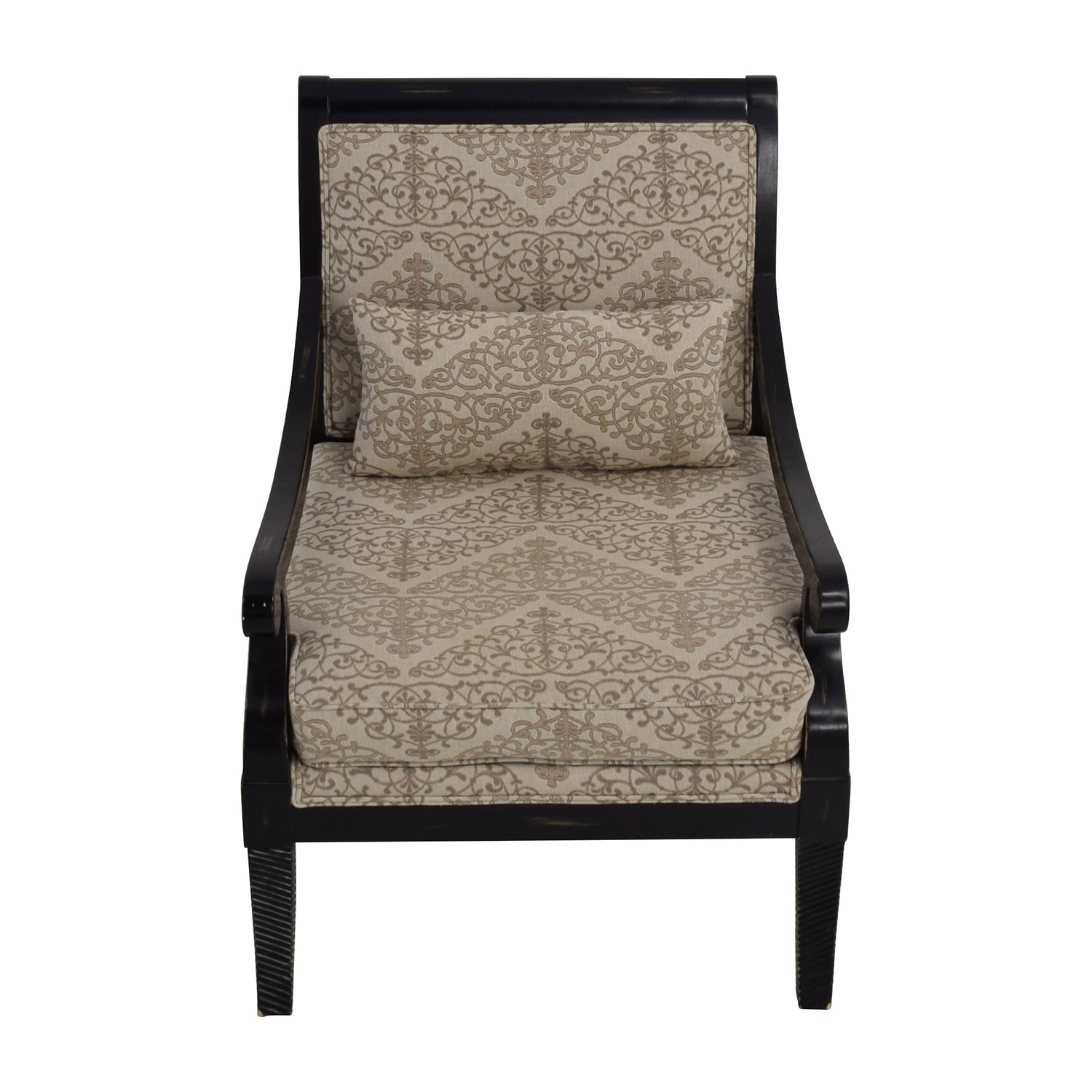 shop Jonathan Louis Fernand Beige Accent Chair Jonathan Louis Accent Chairs
